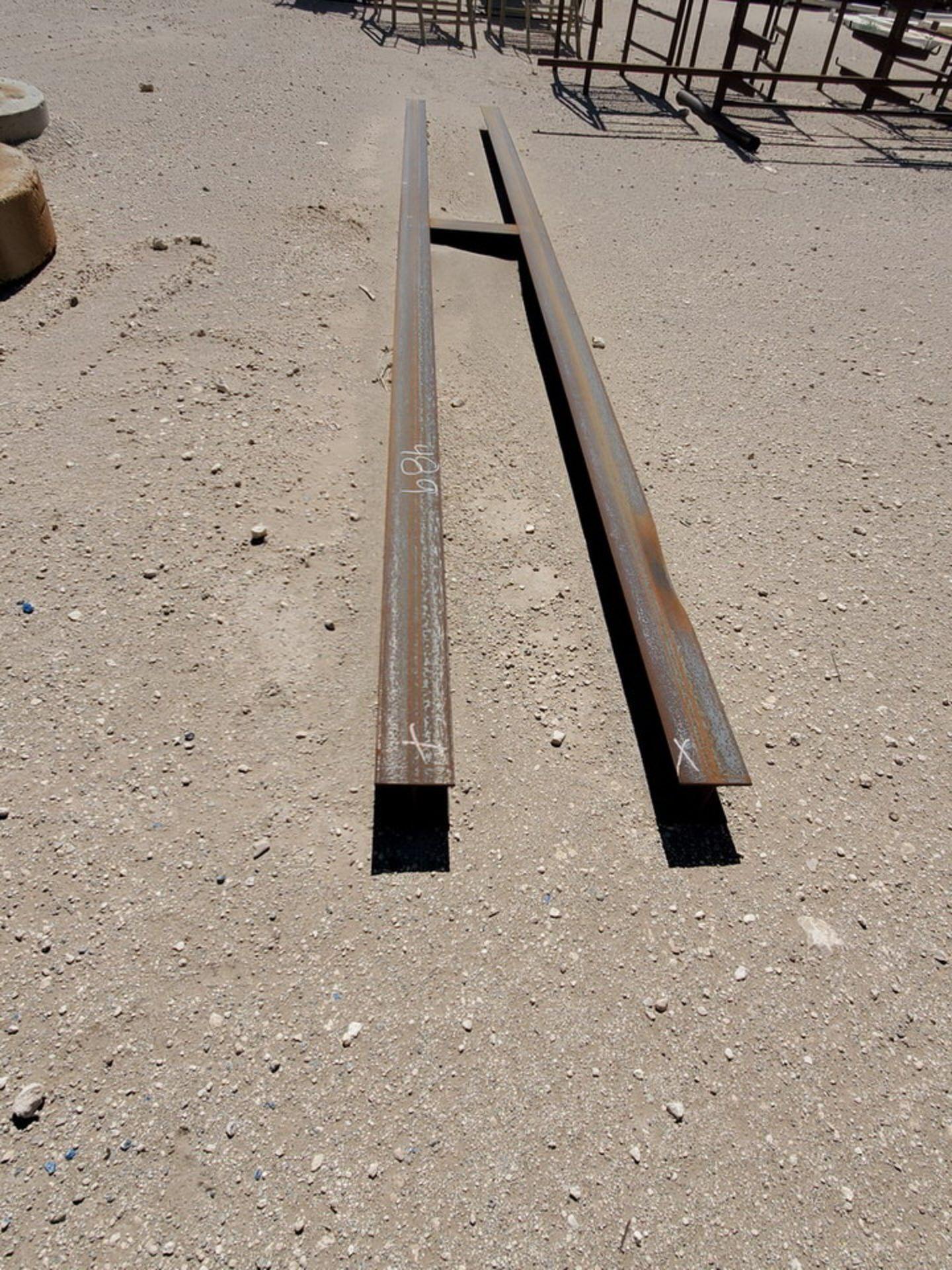 "I-Beam & Grating Size Range: 8"" - 12""Dia, 17' - 40'L W/ Racks - Image 26 of 26"