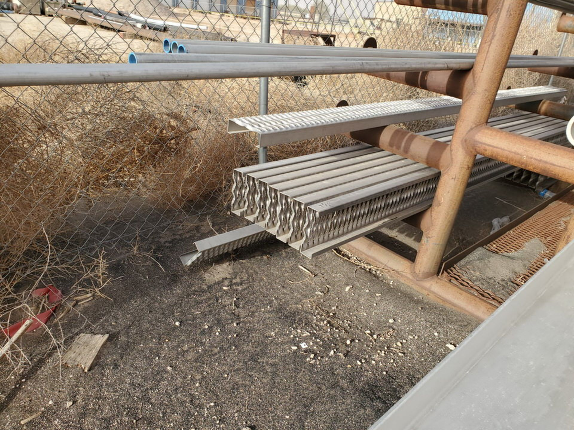Assorted Matl. To Include But Limited To: S/S Channel, Pipe, Angle, Tubing, Rods, etc.(Rack - Image 6 of 19