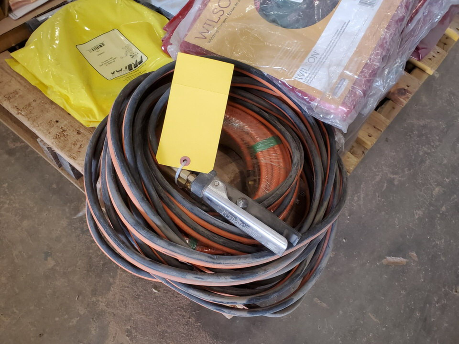 Assorted Welding Material To Include But Not Limited To: Electrode Holders, Gloves, Hoses, Rods, - Image 11 of 12