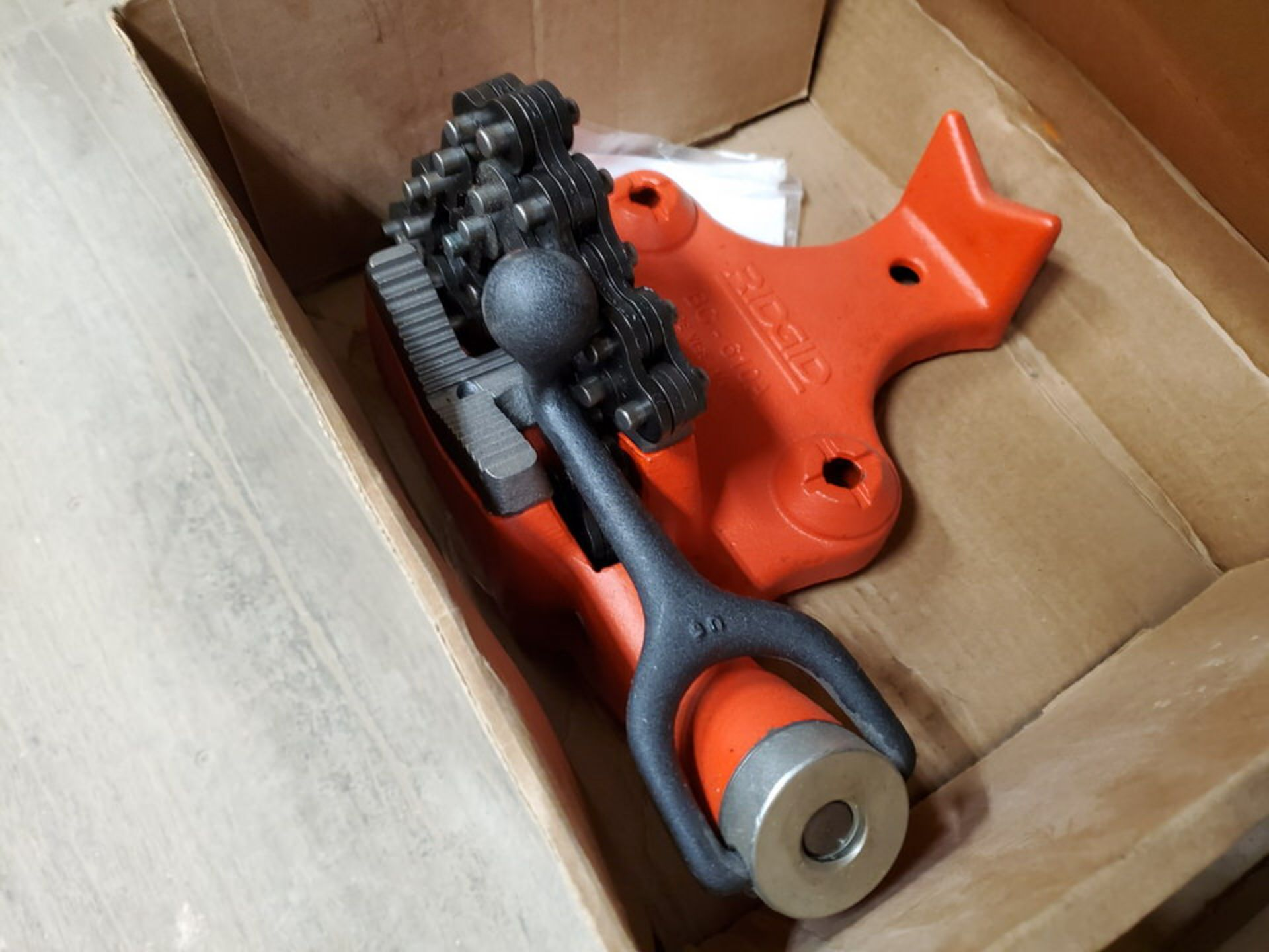 """Ridgid BC-610A (2) 1/4""""- 6"""" Pipe Vises 1"""" Pipe Bend - Image 4 of 5"""