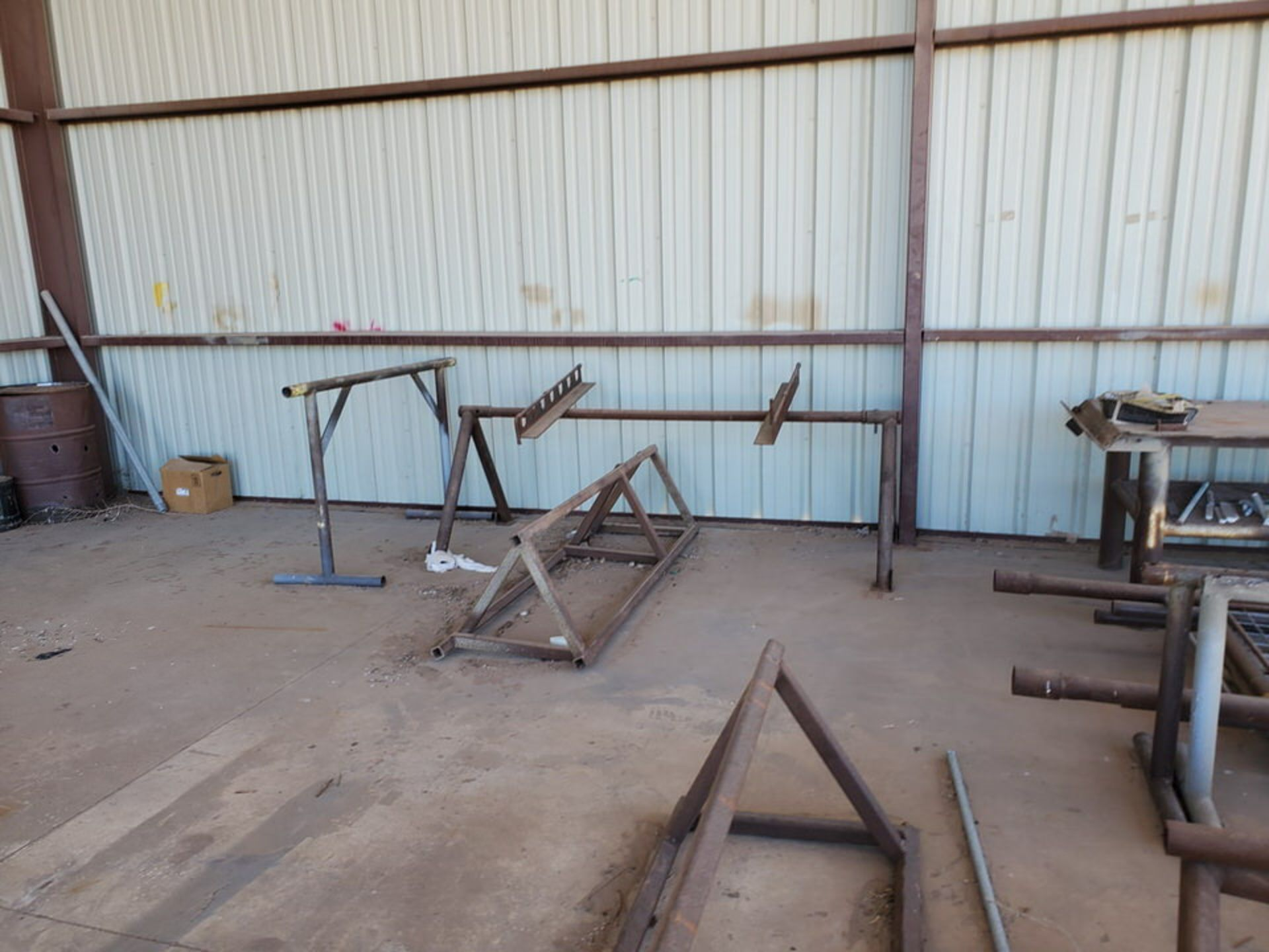 "Misc. Matl. To Include But Not Limited To: 42"" Drum Fan, Saw Horses, Welding Table, etc. - Image 8 of 10"