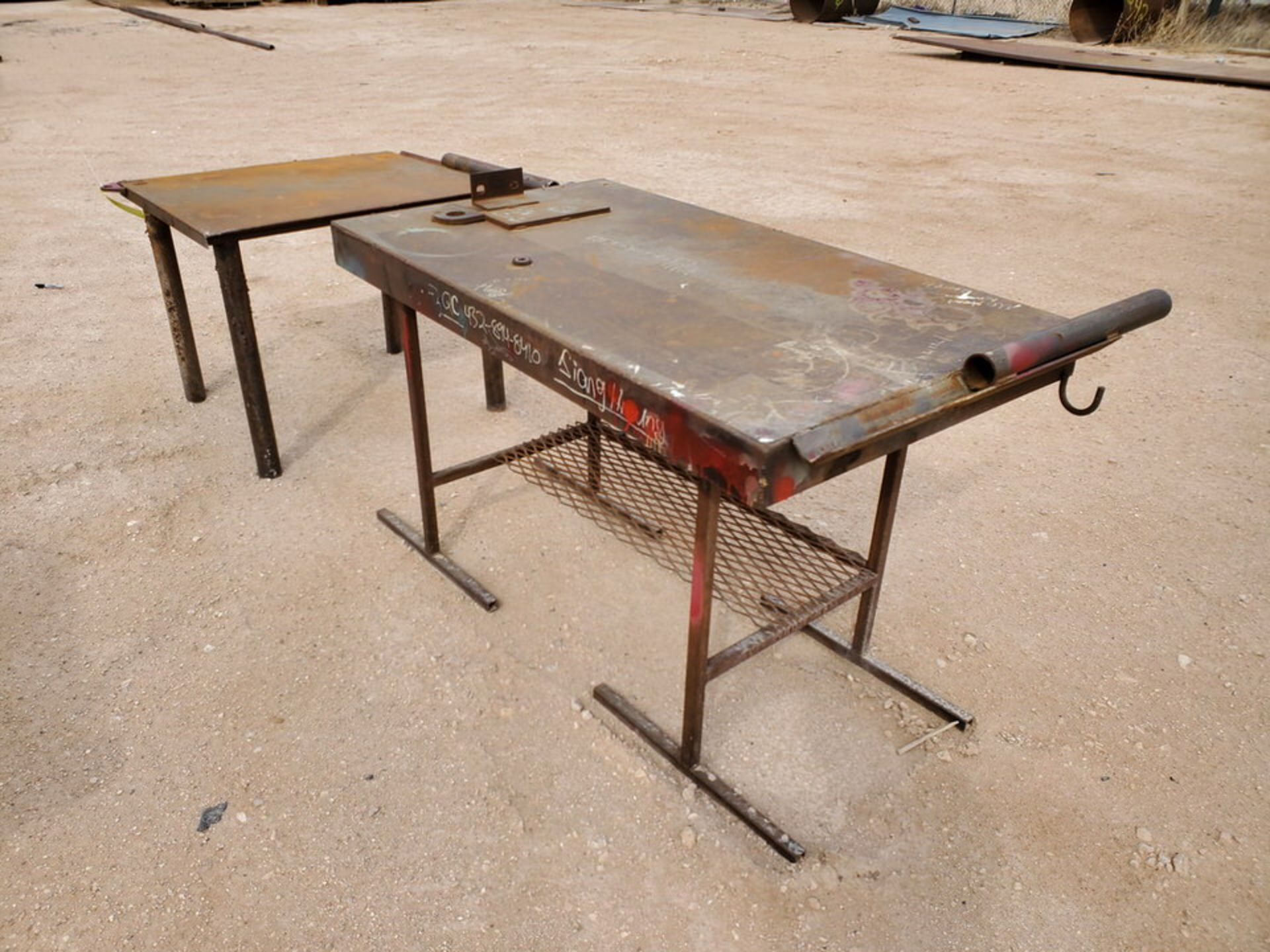 """(2) Stl Welding Tables (1) 36"""" x 43"""" x 30"""", (1) 60"""" x 29"""" 36"""" - Image 4 of 6"""