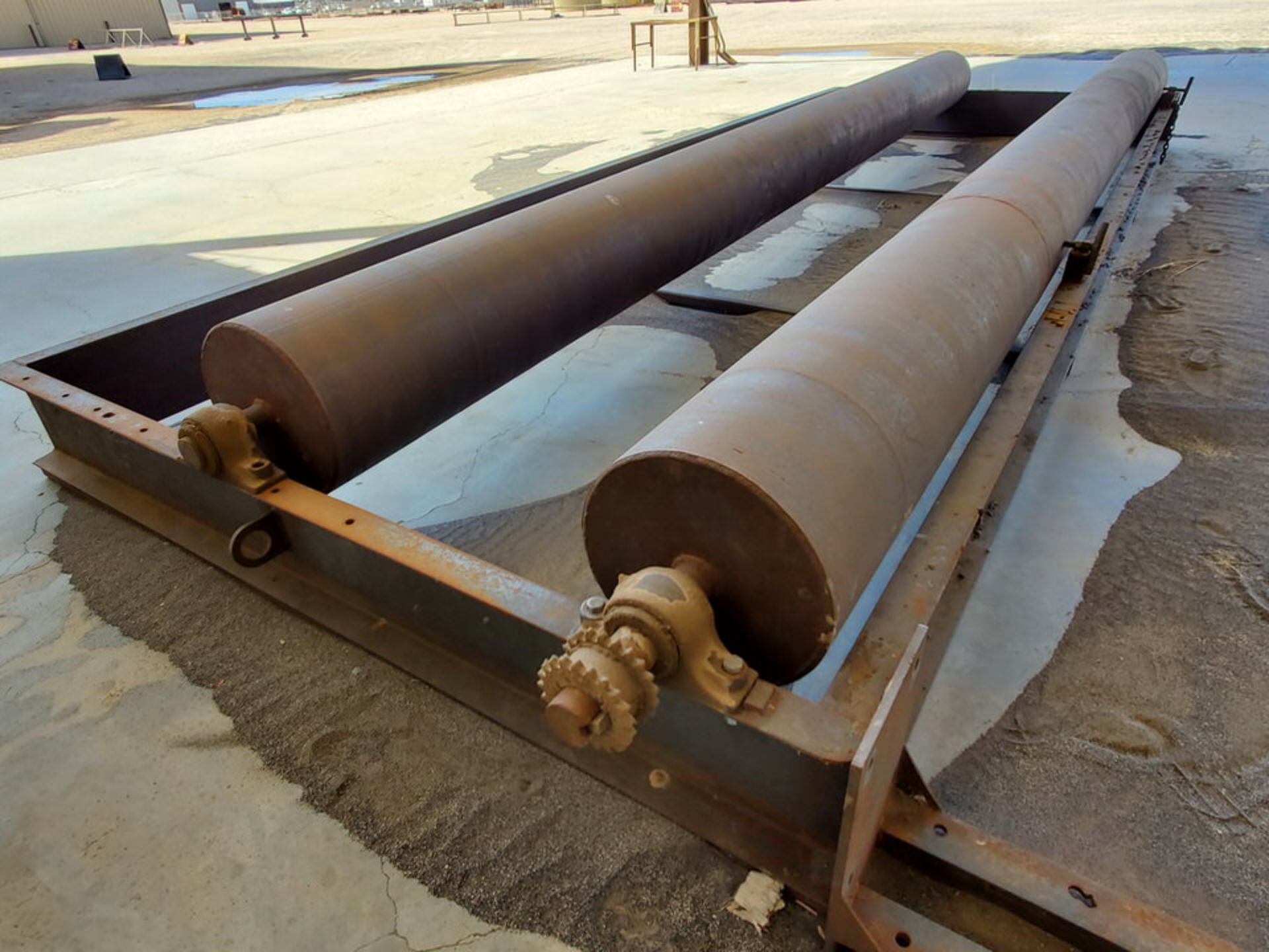 """Turn Roll 8' x 20'6"""", 16"""" O.D. Rolls, 1' Base; Overall Dims: 9'8""""W - Image 6 of 8"""