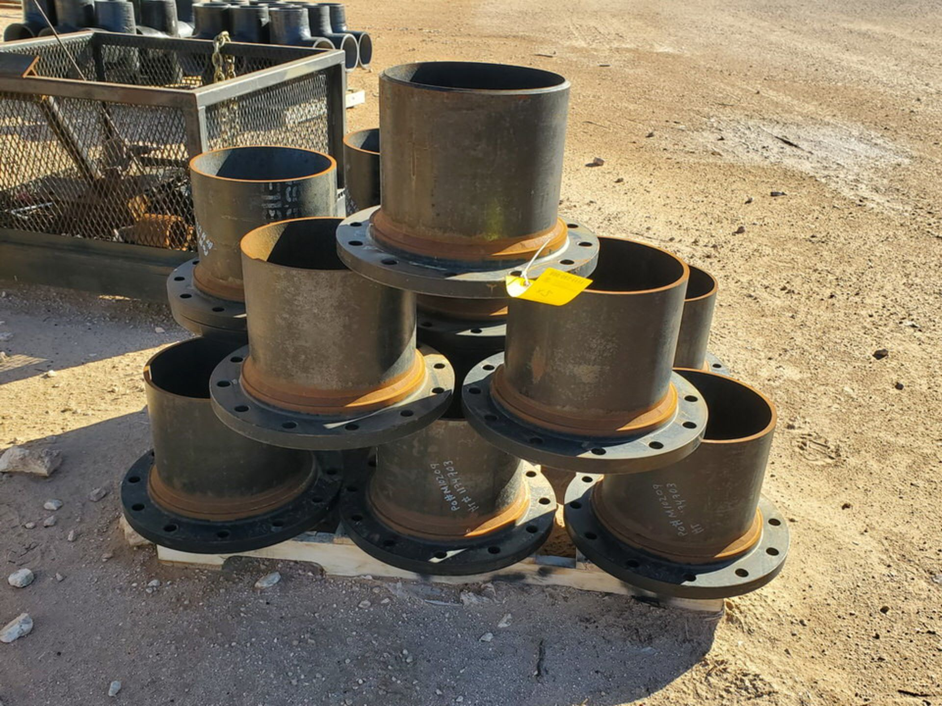 "(24) 12"" Stl Flanged Pipe 150# A/SA105 - Image 3 of 5"