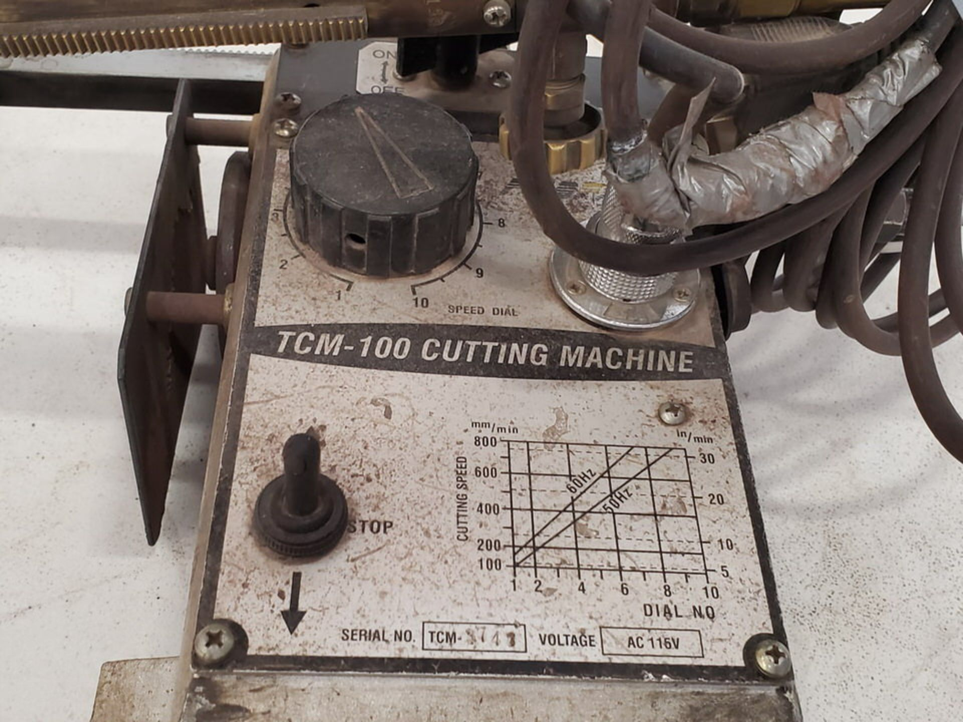 Profax Portable Track Cutting Machine 115V - Image 6 of 8