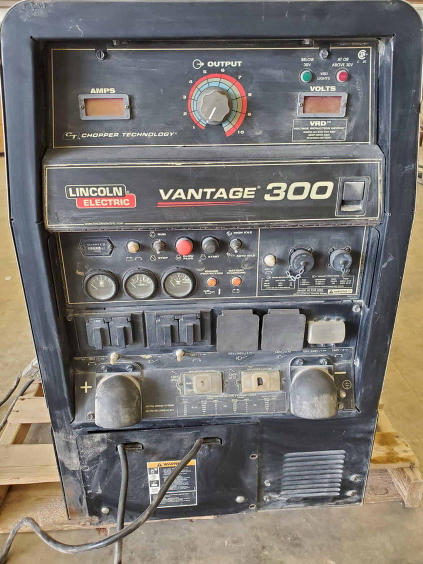 LE Ele Vantage 300 Multiprocessing Welder 120/240V, 60HZ, 300A, 1/3PH, 4,050.4HRS; 4 Cyl Kubota - Image 5 of 10