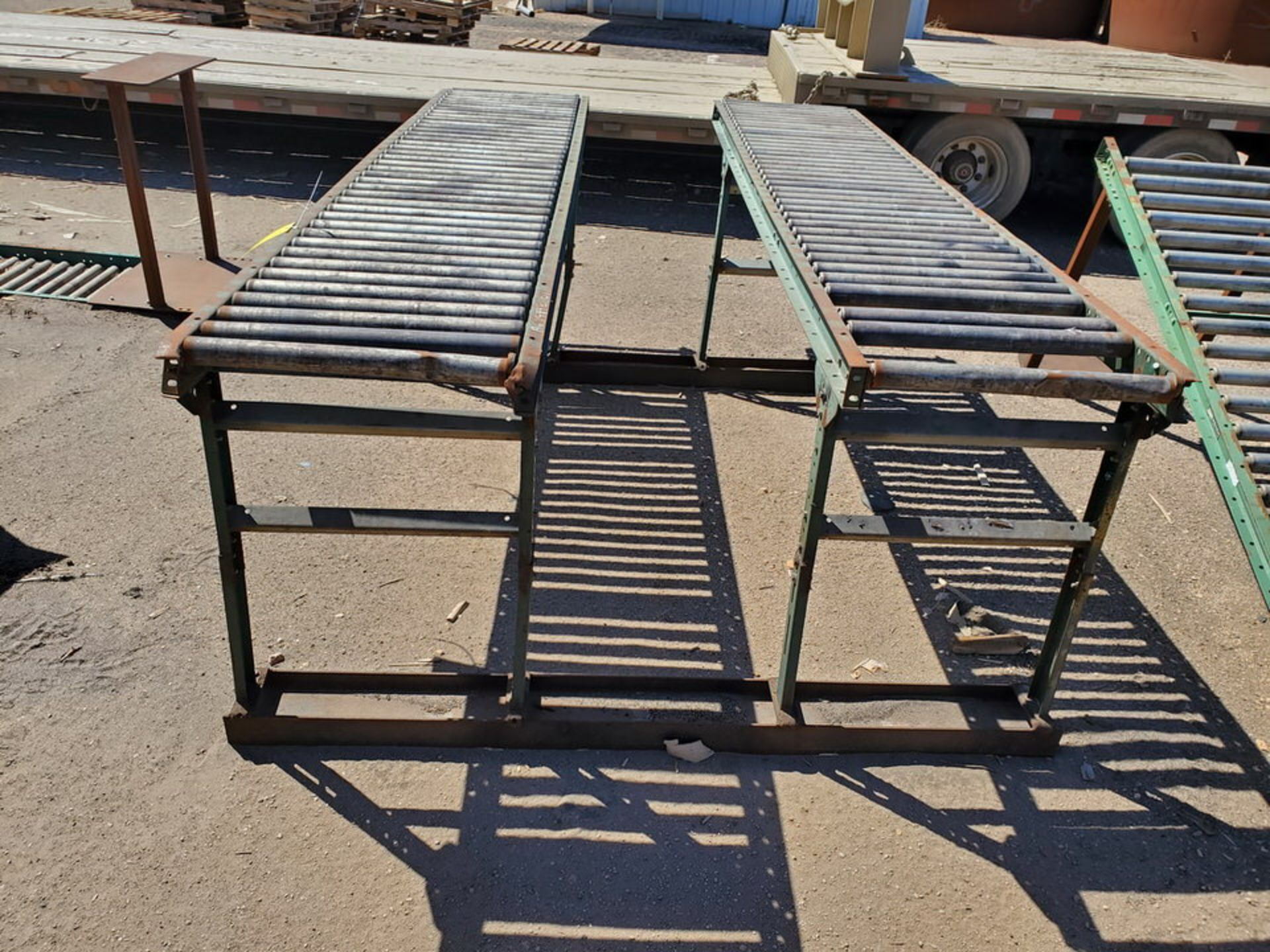 "Ashland & Other (6) Roller Conveyor 10' x 24"" - Image 3 of 7"
