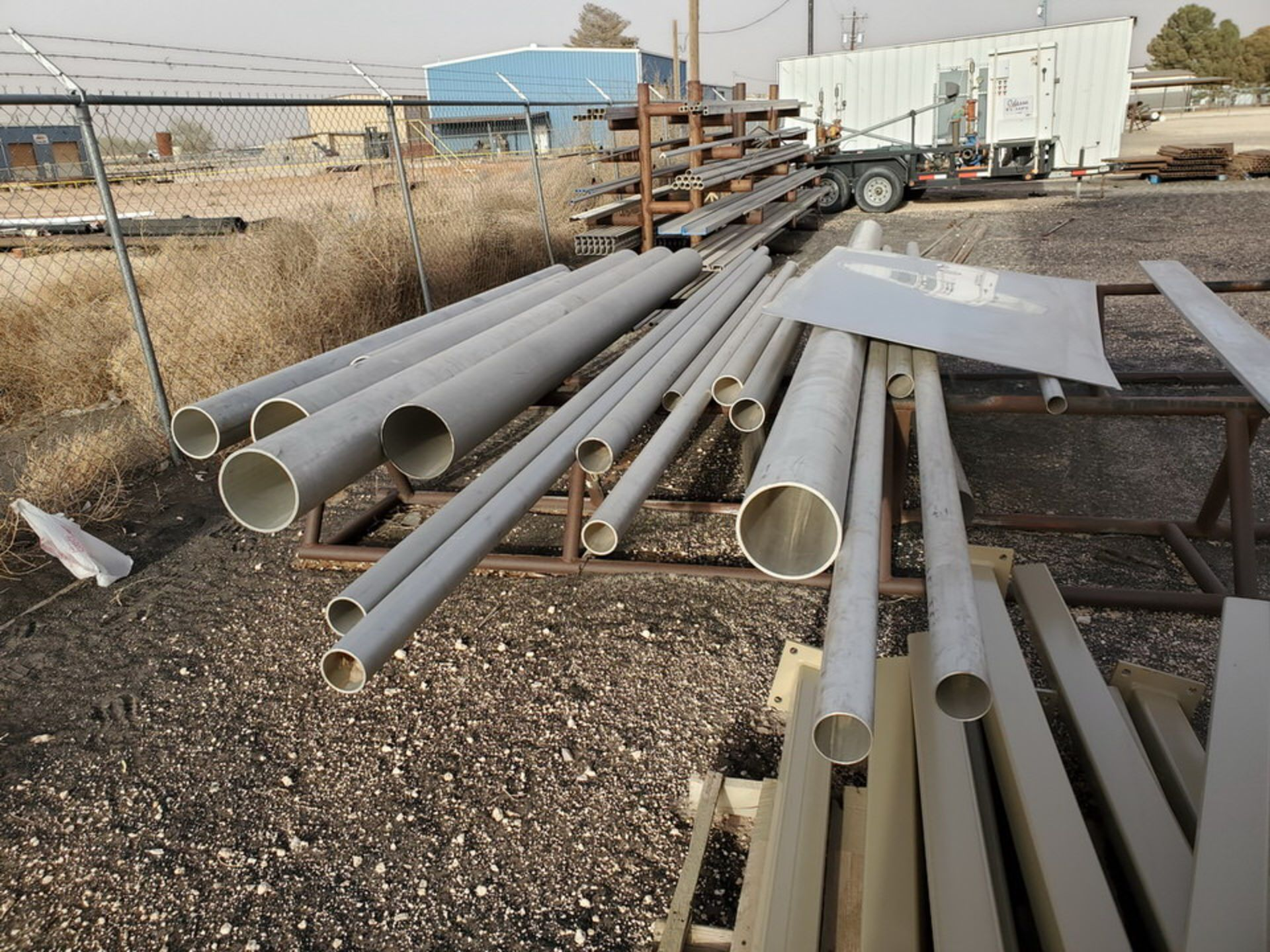 Assorted Matl. To Include But Not Limited To: S/S Flat Bar, Pipe & Sheets (Rack Excluded) - Image 18 of 22