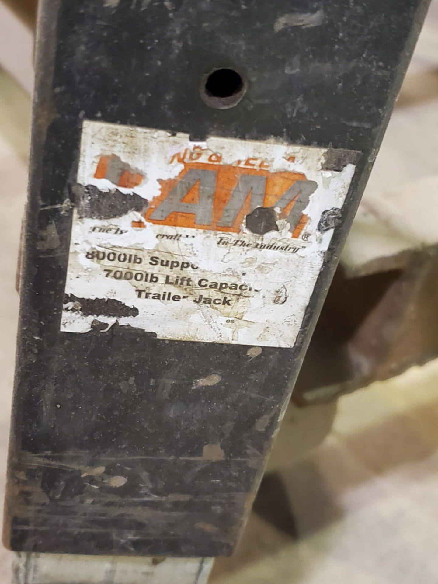 """Stl 4-Step Roling Platform Ladder 6' x 4'6"""" x 10'H; 7K Cap. - Image 8 of 8"""