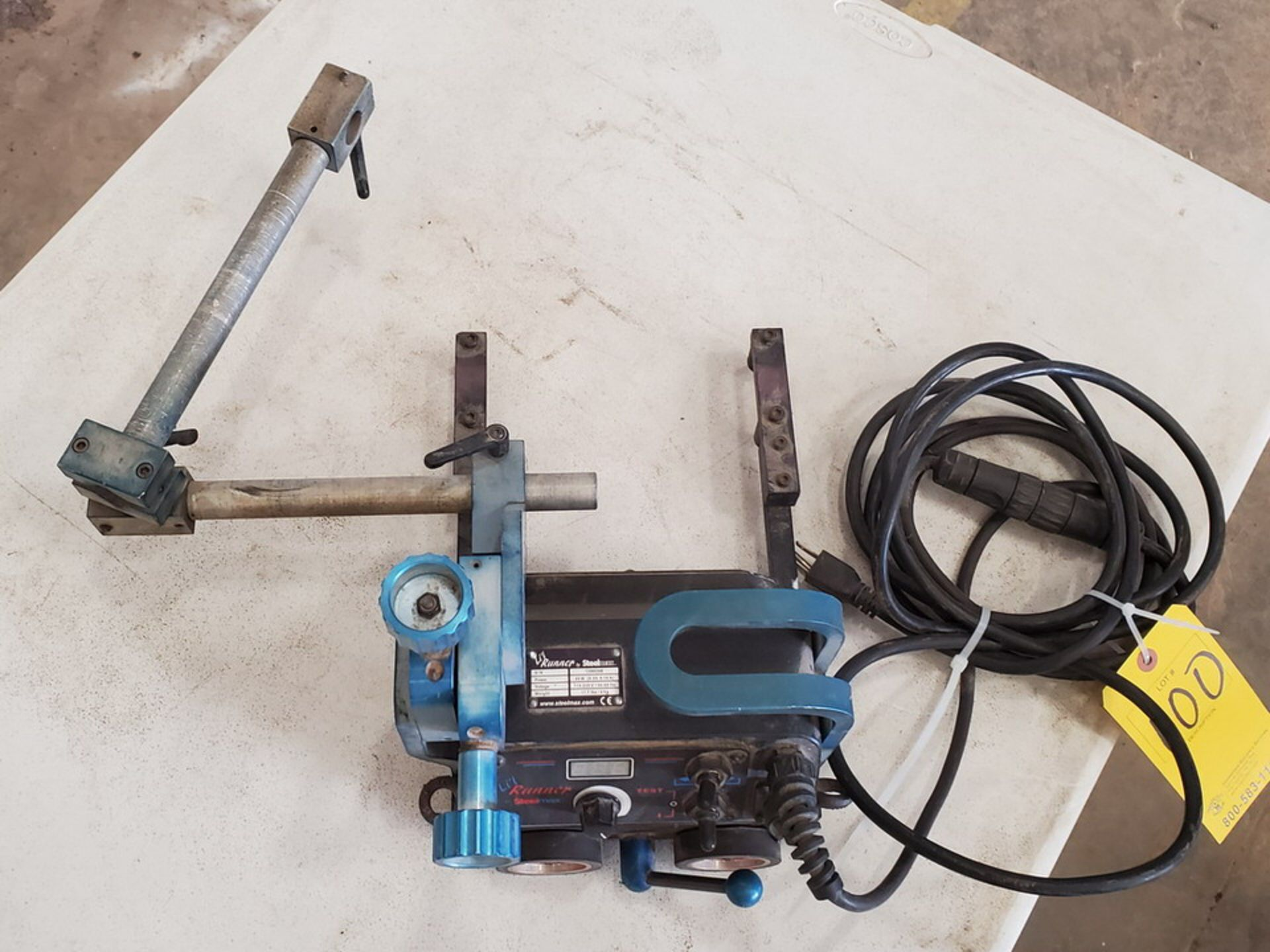 Steelmax Lil Runner Portable Fillet Welding Carriage 115-230V, 50/60HZ, 20W, .09-.18A - Image 6 of 7