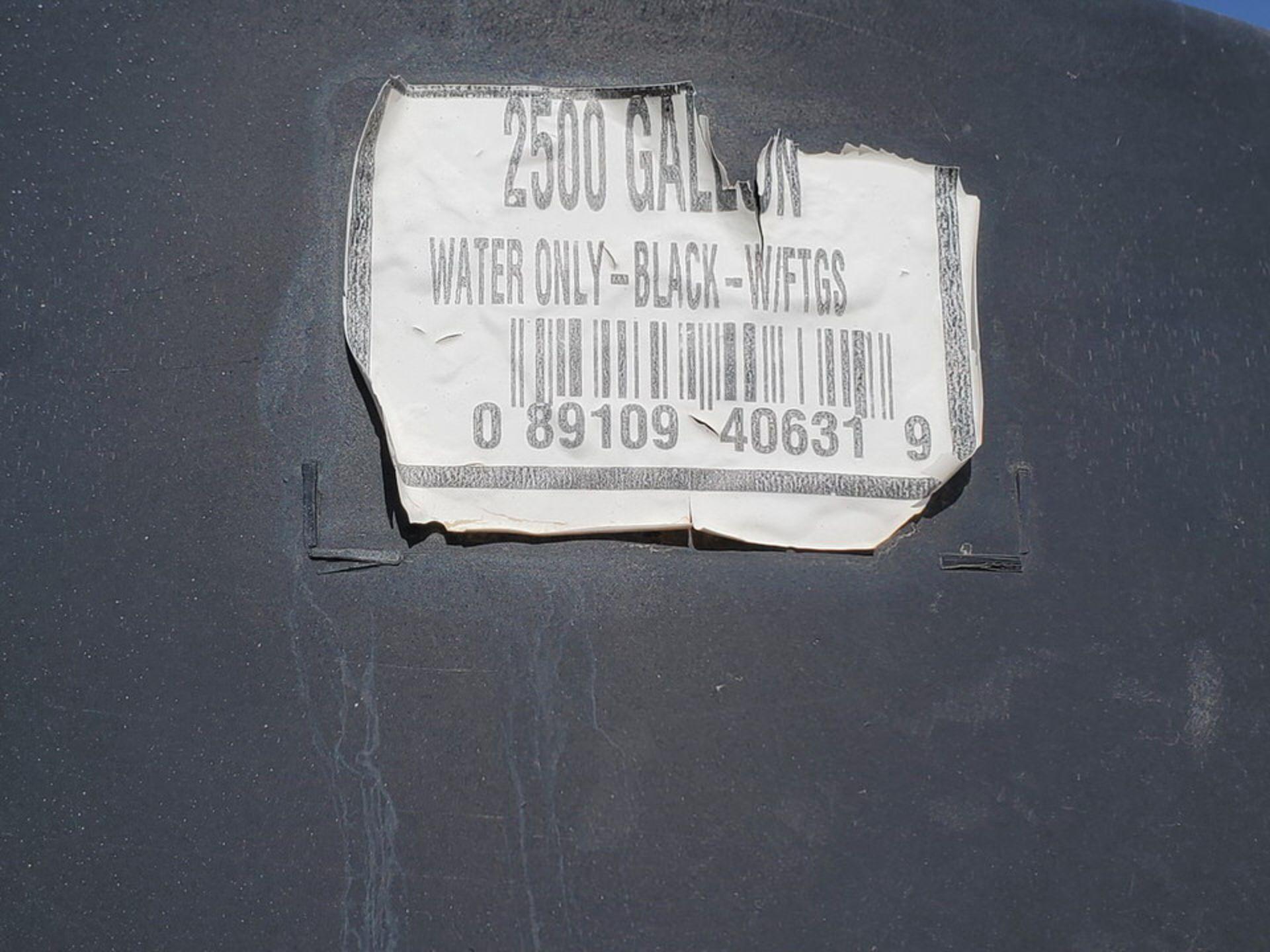Water Tank 2500Gal - Image 6 of 6