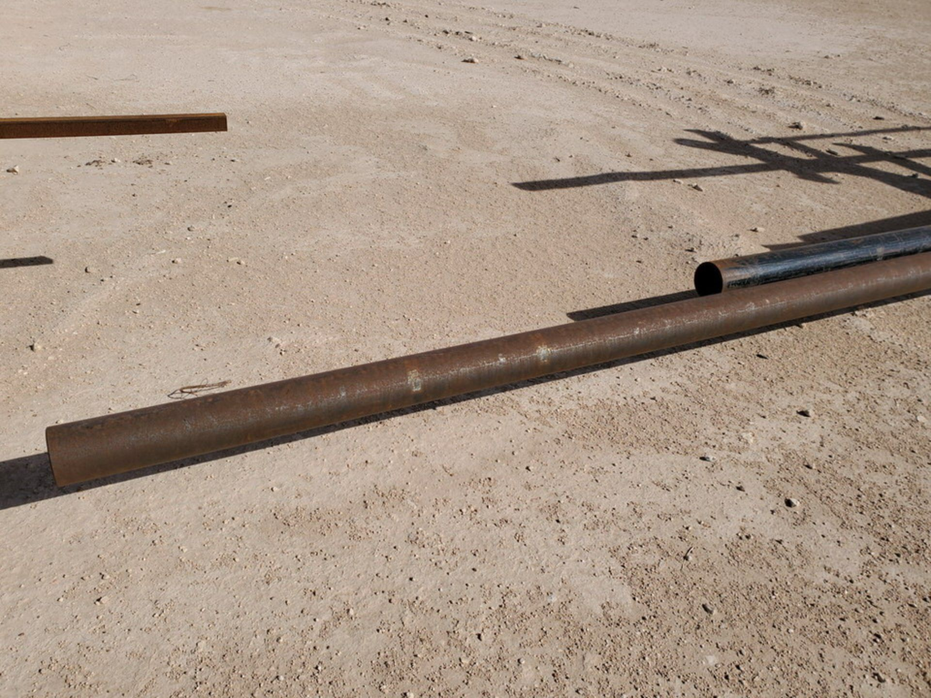 "(25) Pipe & Flat Bar D: 3""-4"", L: 15'-42' - Image 5 of 10"