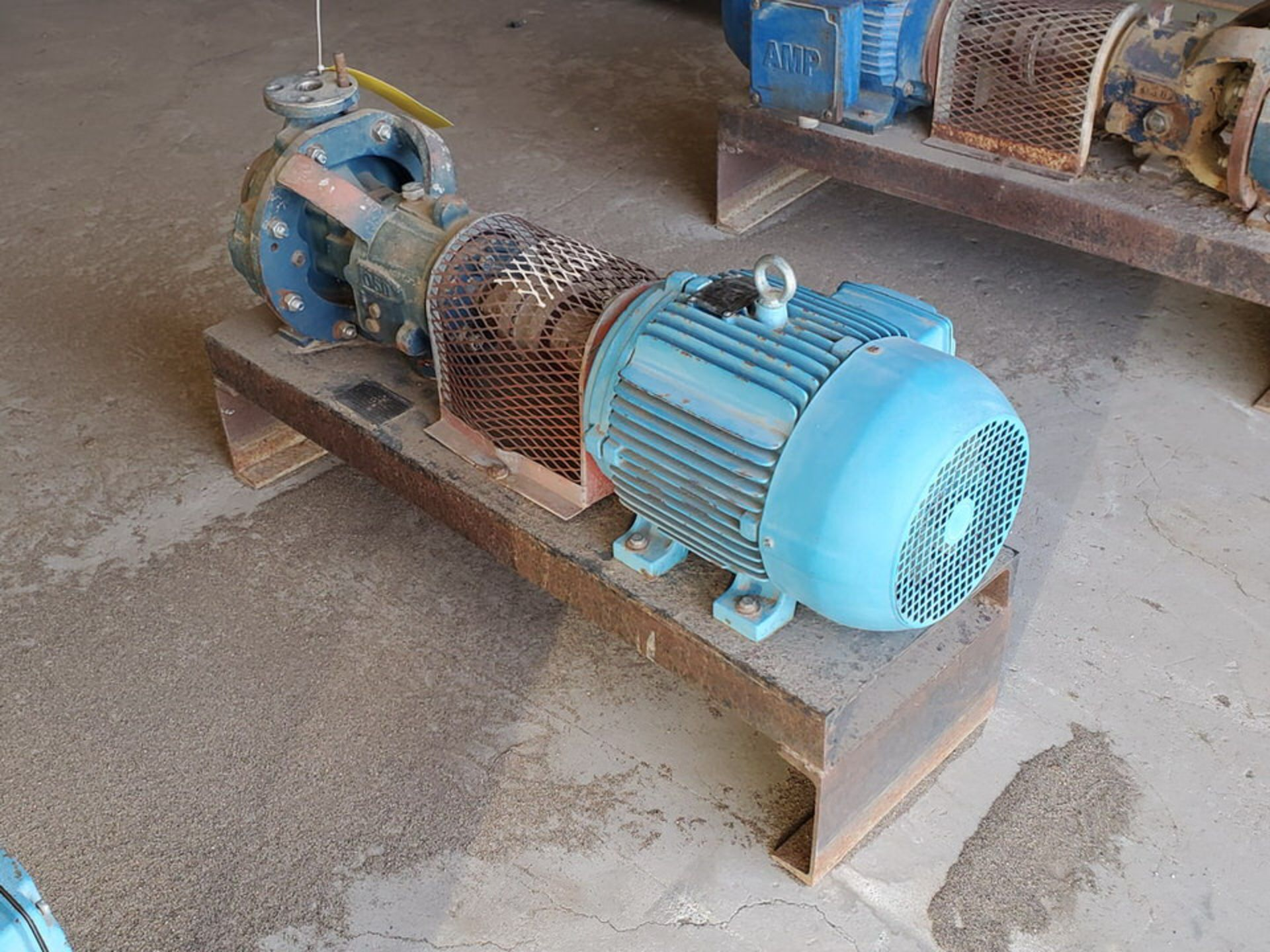 American-Marsh Pumps 1L1x1.5-6RV OSD Centrifugal Pump W/ 7.5HP Weg Motor - Image 5 of 9