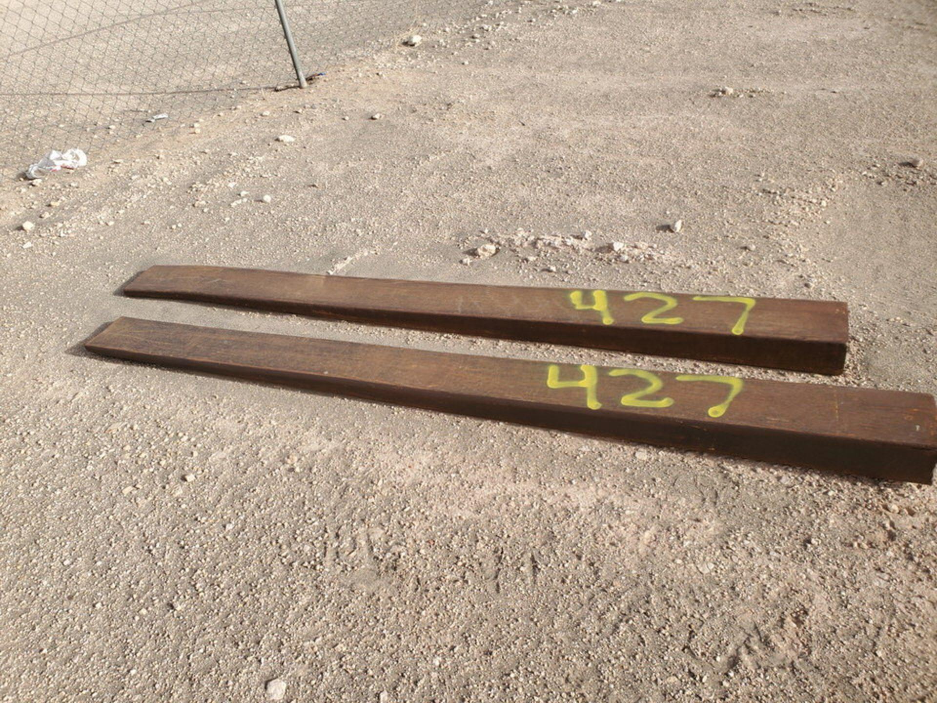 """(1) 8' Forks 8"""" O. D. - Image 2 of 3"""