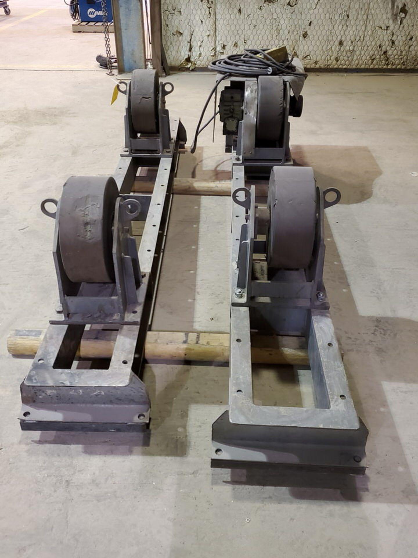 "Profax TR-20000 Turn Roll 10K Cap., 115V, 15A, 50/60HZ, 1PH, RPM: 0-1.9; 5"" Wheel Dia. - Image 5 of 8"