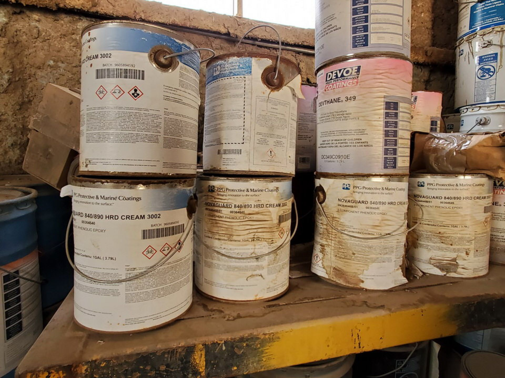 Assorted Paints & Marine Coatings Mfg's: PPG, Intl. & Other - Image 5 of 10
