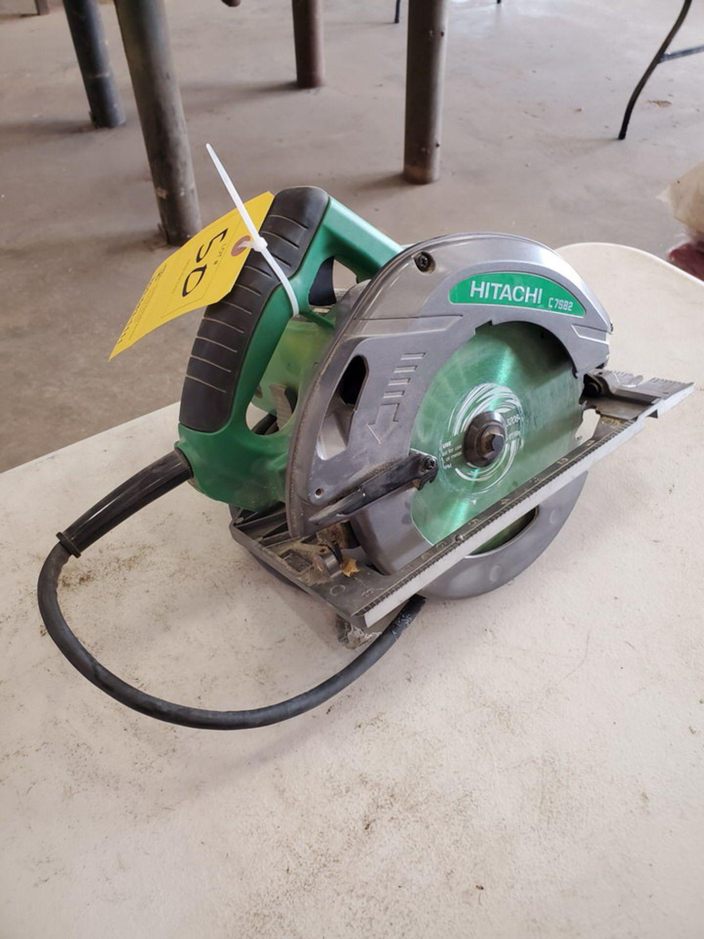 """Hitachi 7-1/4"""" Circular Saw 120V, 15A, 60HZ, 5800RPM - Image 2 of 4"""