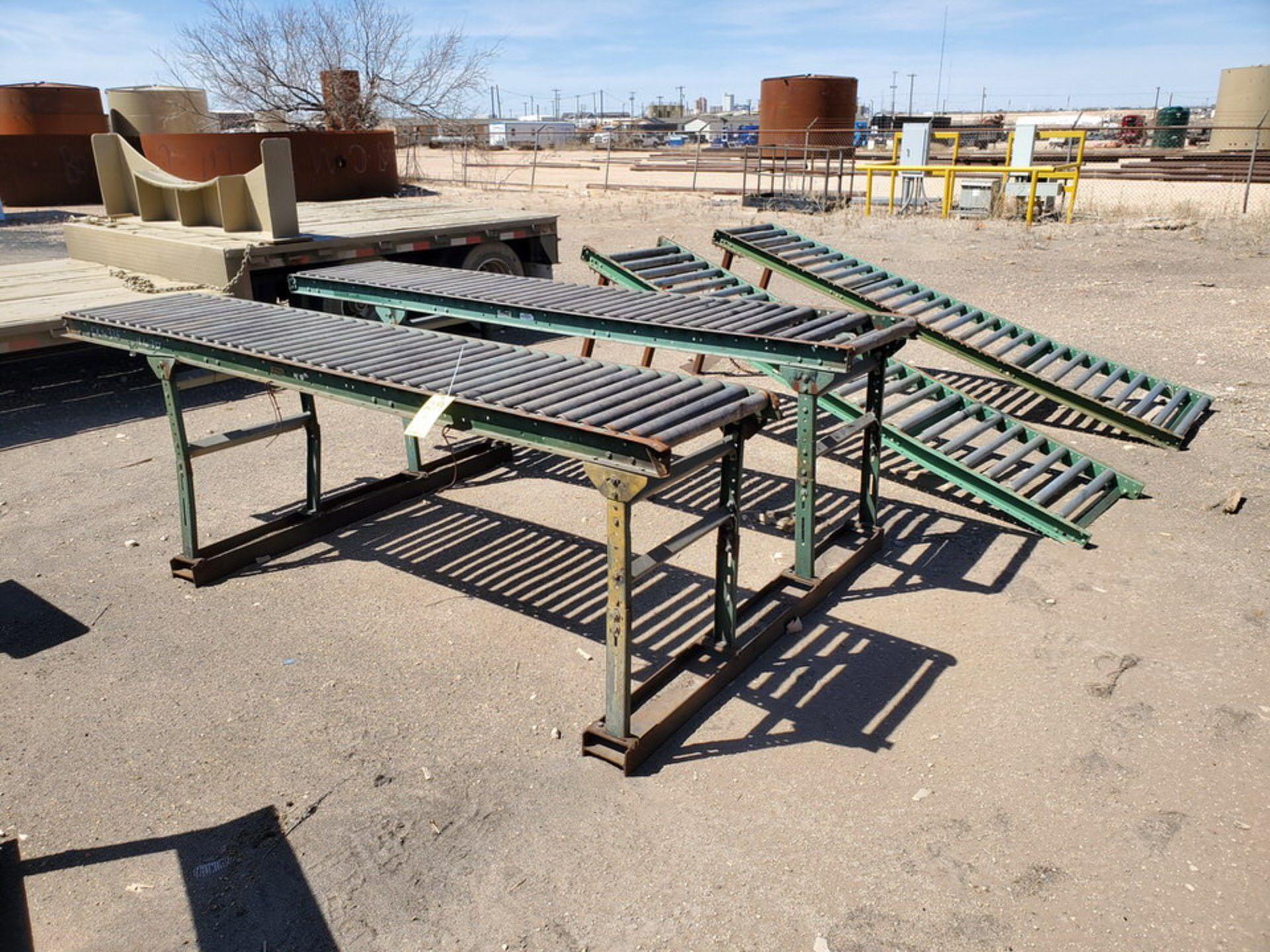 "Ashland & Other (6) Roller Conveyor 10' x 24"" - Image 5 of 7"