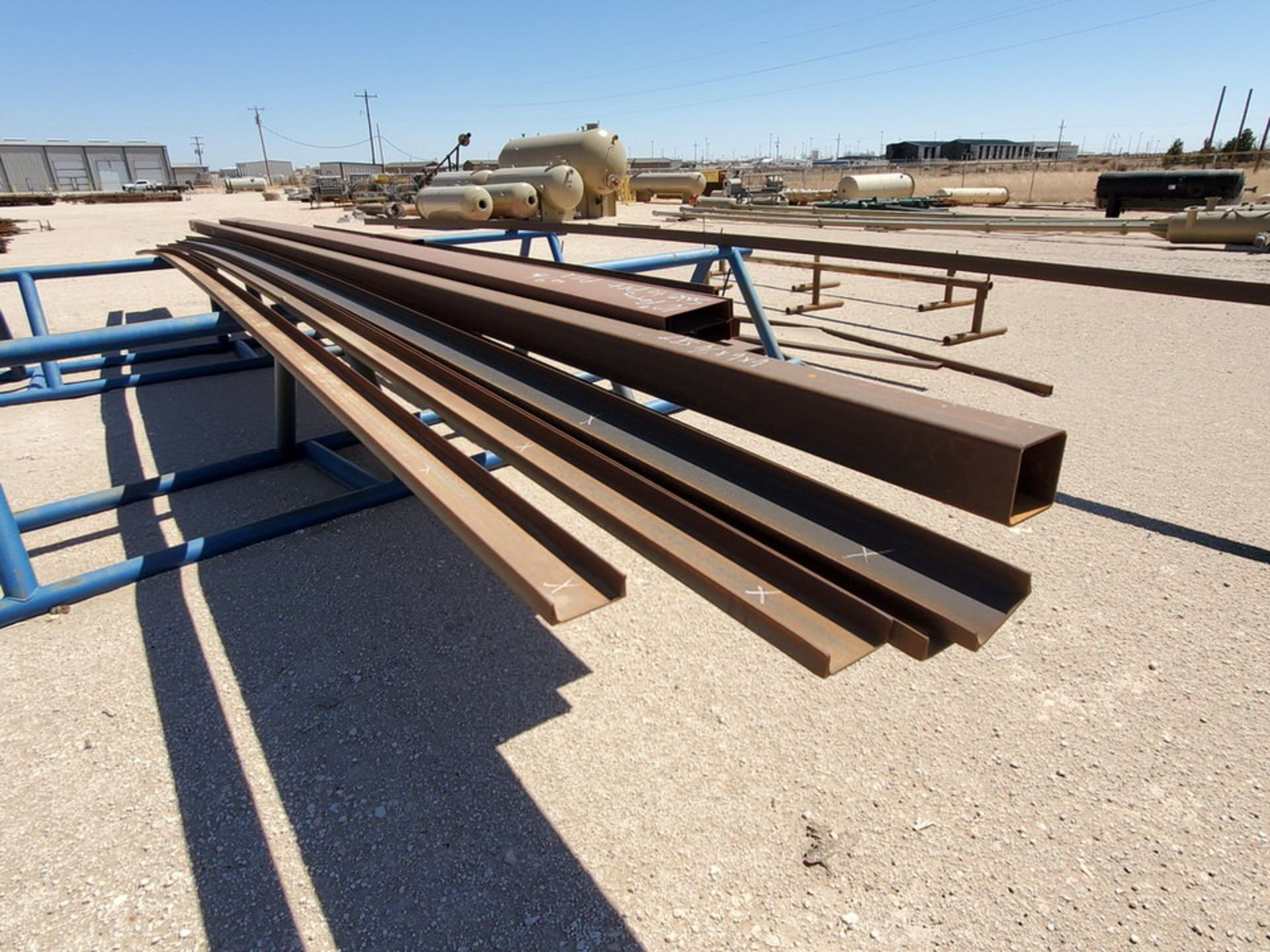"Assorted Matl. To Include But Not Limited To: Angle, Channel, Sq. Tubing, Rect. Tubing, etc., 6"" - - Image 14 of 16"