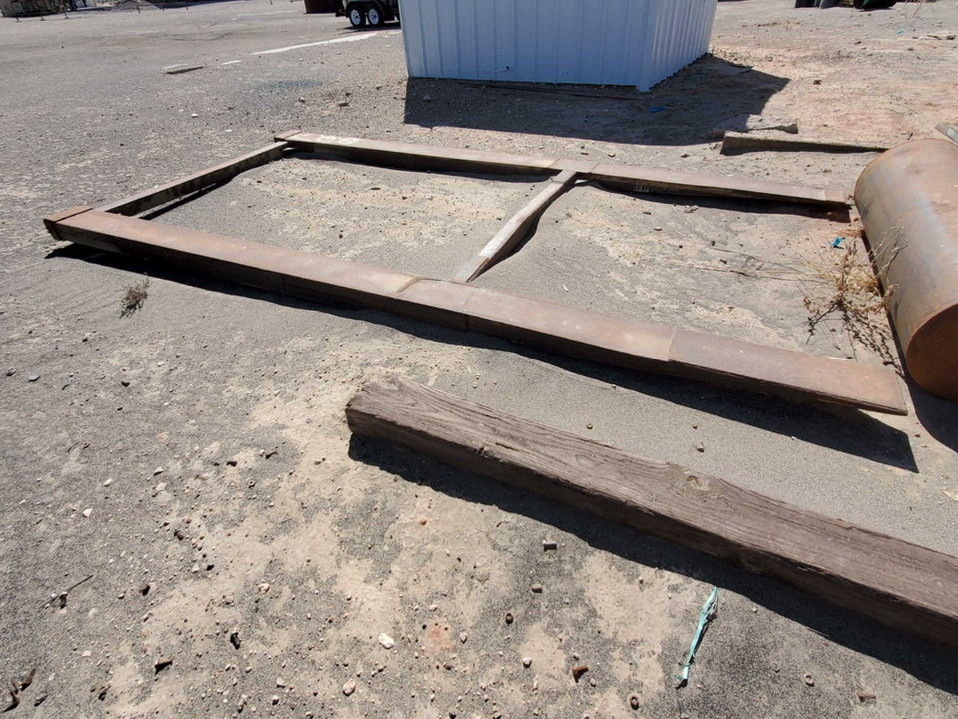 """Forklift Attechment 15'8"""" x 7'11"""", 9-1/2"""" Forks I.D. - Image 8 of 8"""