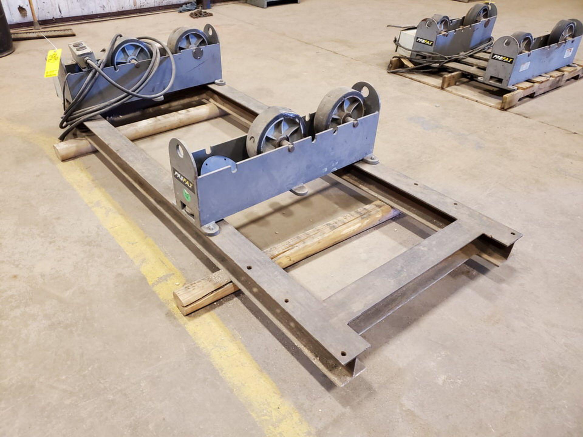 "Profax TR-5000 Turn Roll 2500 Cap., 115V, 10A, 50/60HZ, 1PH, RPM: 0.5-5; 3"" Wheel Dia.; Skid Dims: - Image 6 of 9"