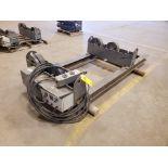"""Profax TR-5000 Turn Roll 2500 Cap., 115V, 10A, 50/60HZ, 1PH, RPM: 0.5-5; 3"""" Wheel Dia.; Skid Dims:"""