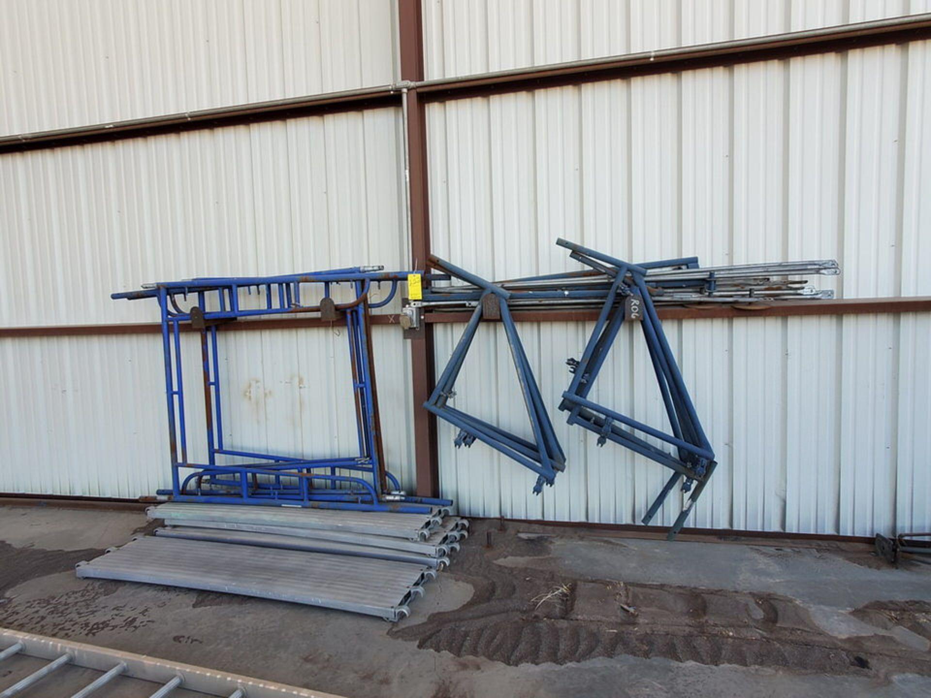 Scaffold W' 16' Fixed Alum. Ladder - Image 2 of 10