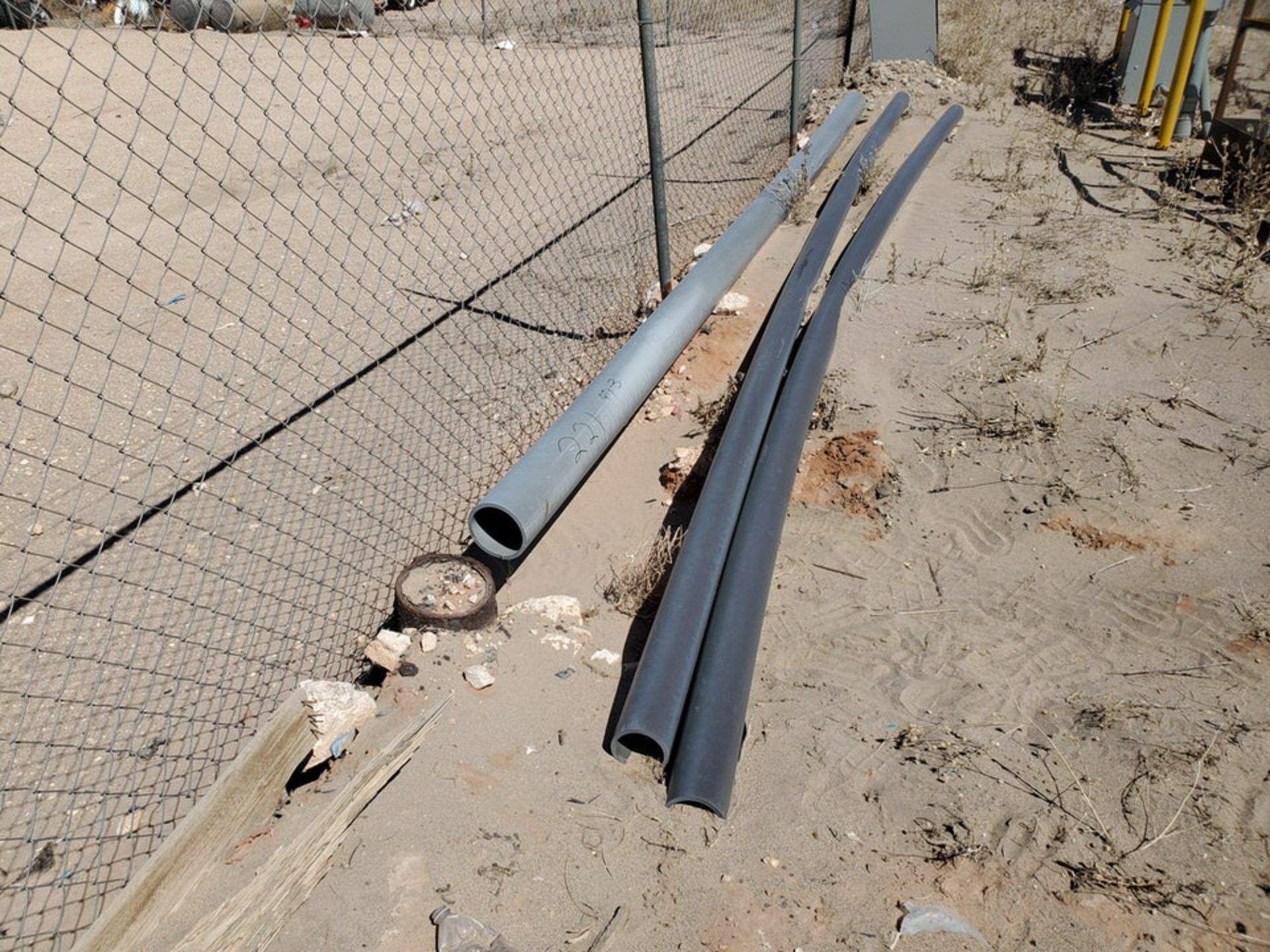 """(3) PVC Pipe Joints Sch 80 & Other; Size Range: 4""""-6"""", 17'9""""-20'L - Image 2 of 8"""