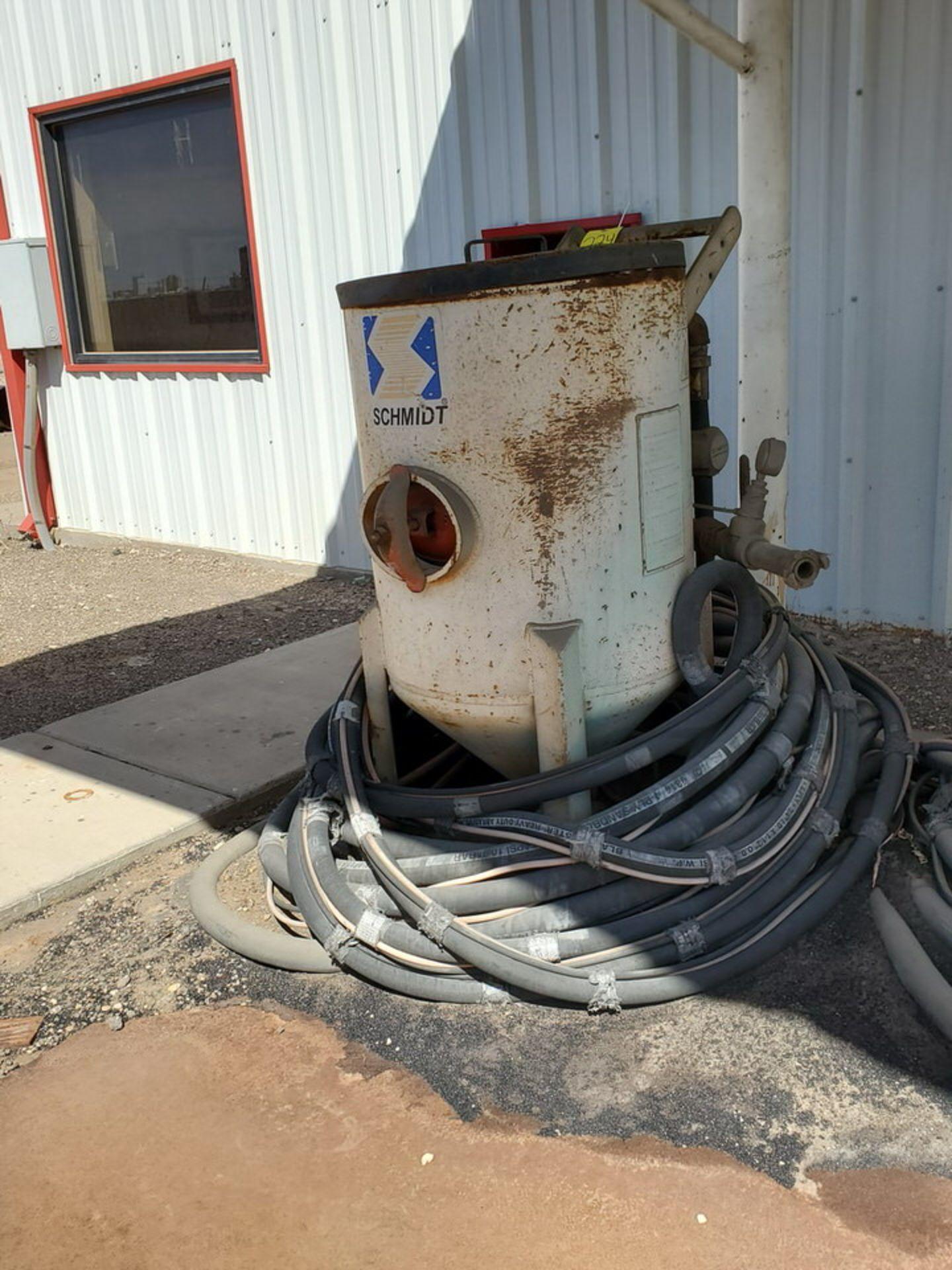 Schmidt 12' Portable Abrasive Sand Blaster Pot 150psi@250F, -20F@150psi; NB# 10649