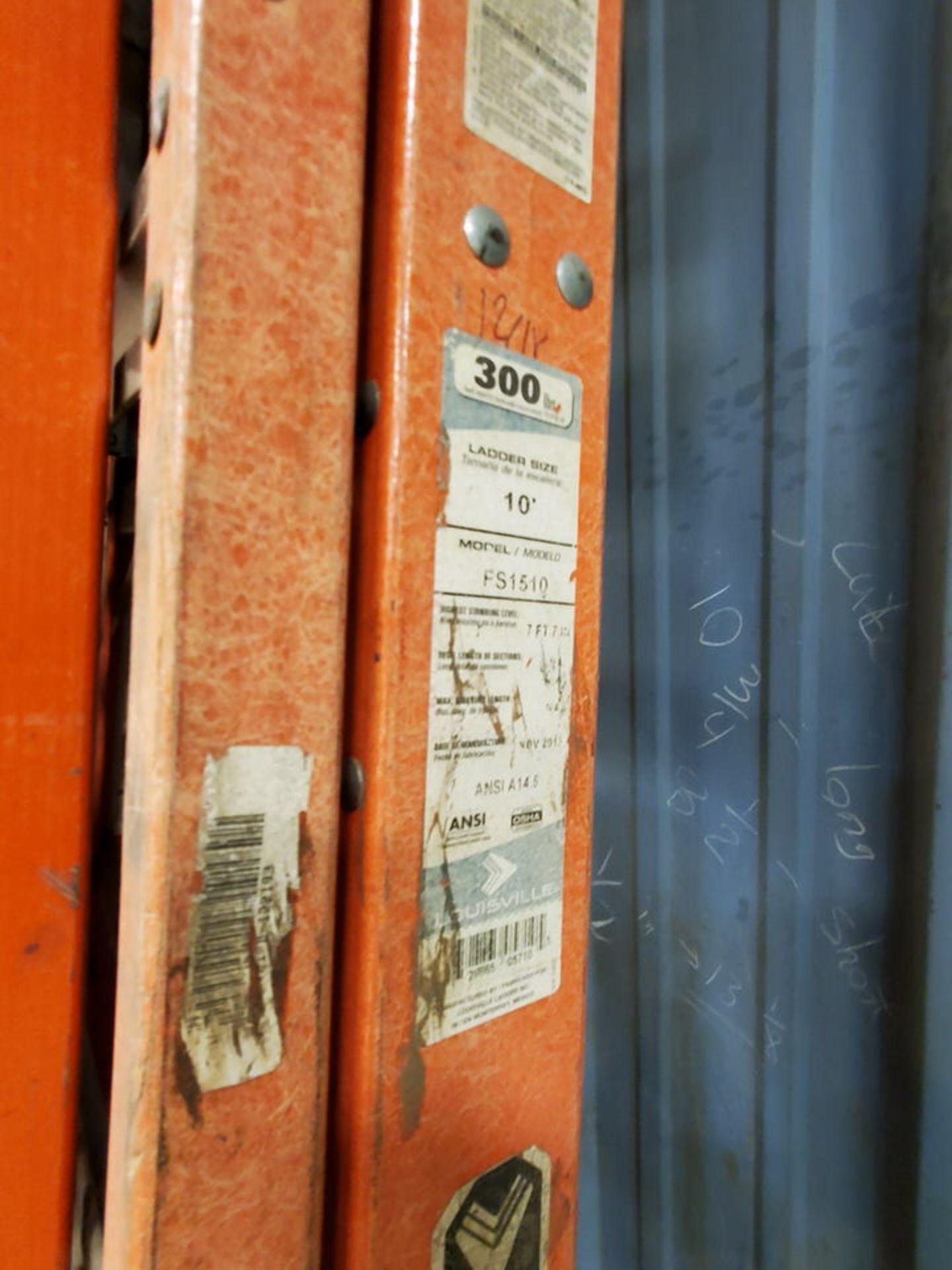 (5) Alum. Platform Ladders 10', 8', (2) 6', 4' - Image 4 of 4