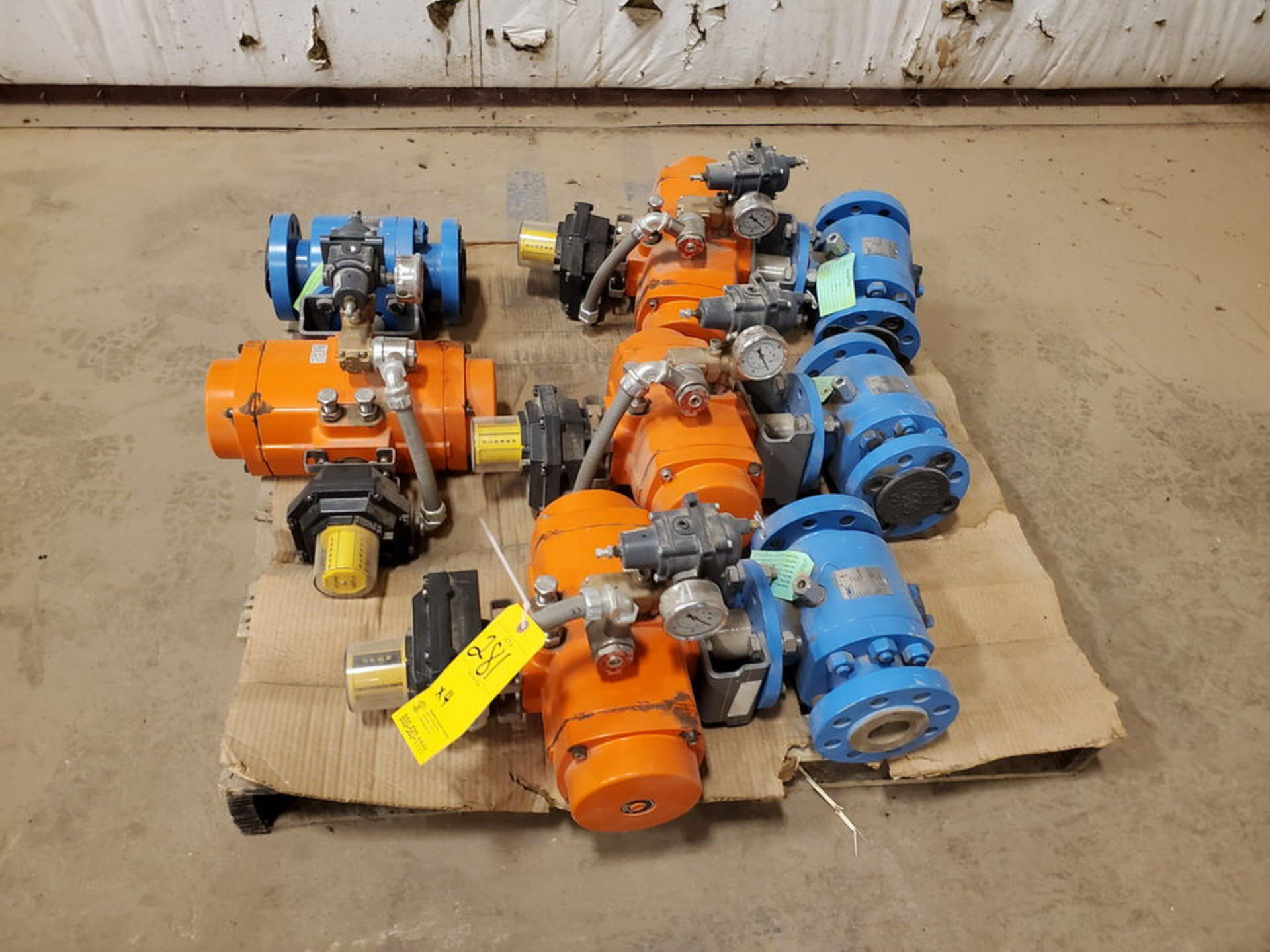 "2018 GWC (4) 2"" x 2"" Actuated Ball Valves 600 Class, 1480psi@-20F, 1310psi@300F - Image 2 of 6"