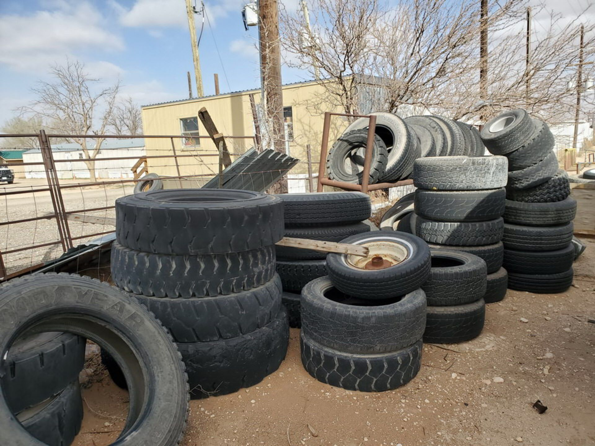 Assorted Tires W/ Rack - Image 8 of 9