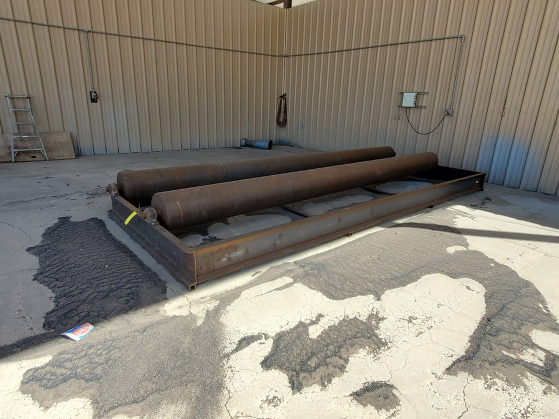 """Turn Roll 8' x 20'6"""", 16"""" O.D. Rolls, 1' Base; Overall Dims: 9'8""""W - Image 8 of 8"""
