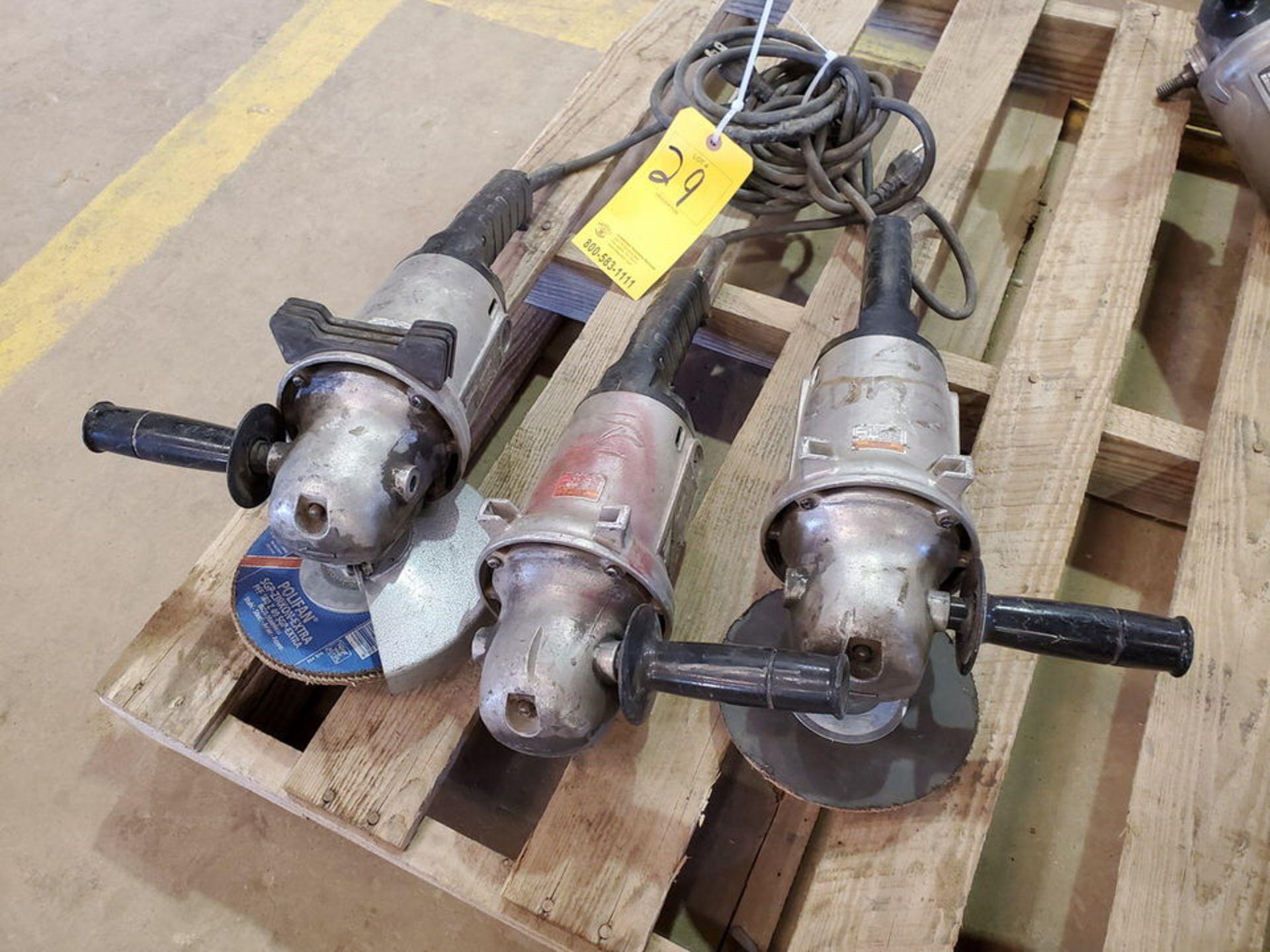"""Makita (3) 7""""-9"""" Angle Grinders 120V, 15A - Image 2 of 4"""