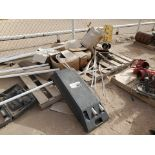 """Assorted Matl. Size Range: 1""""- 24"""", To Include But Not Limited To: Large Reducers, Tees, Flanges,"""