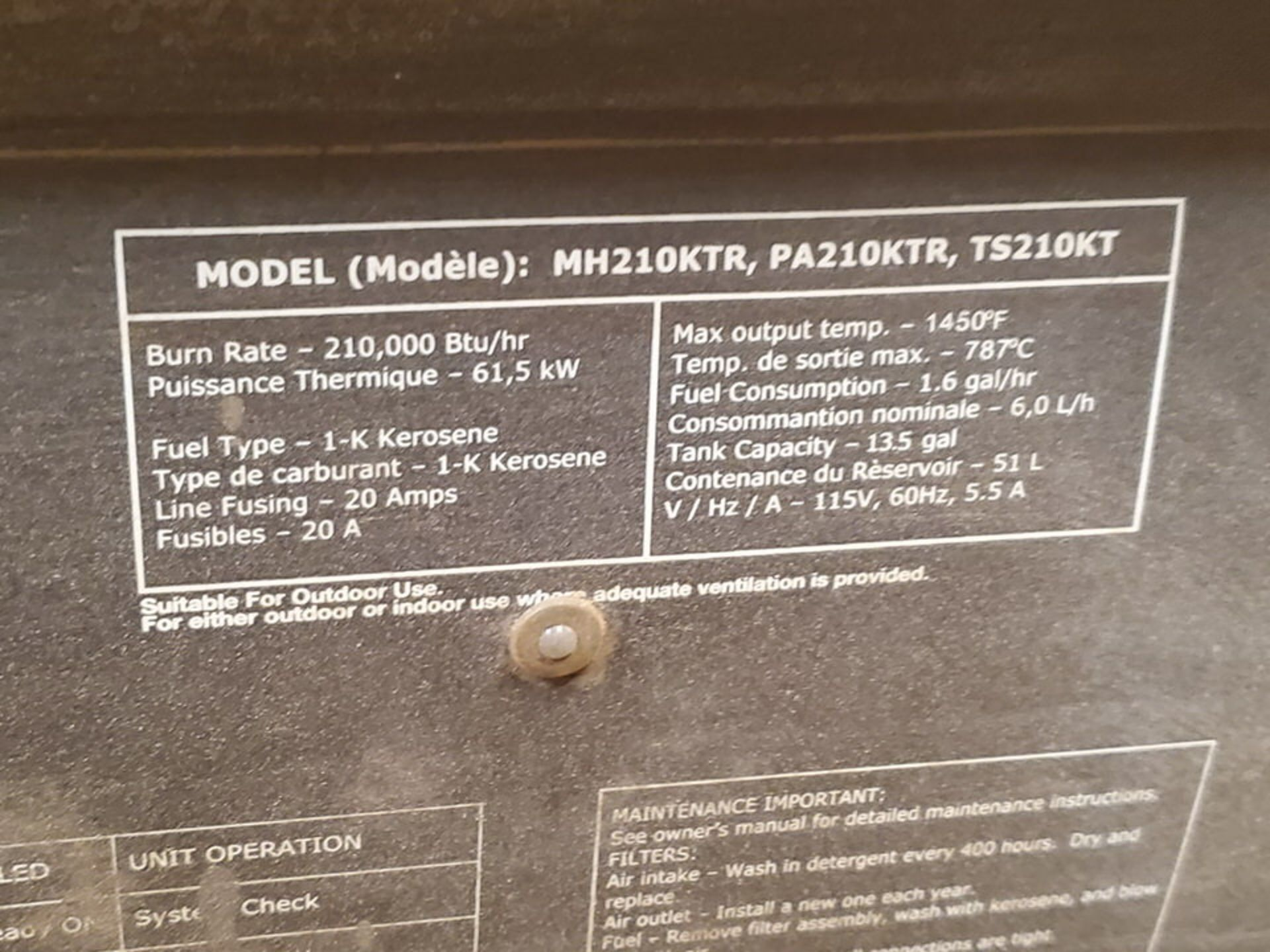 (3) Torpedo Heaters BTU: 175-215K (Mfg- Mr. Heater & etc.) - Image 5 of 5