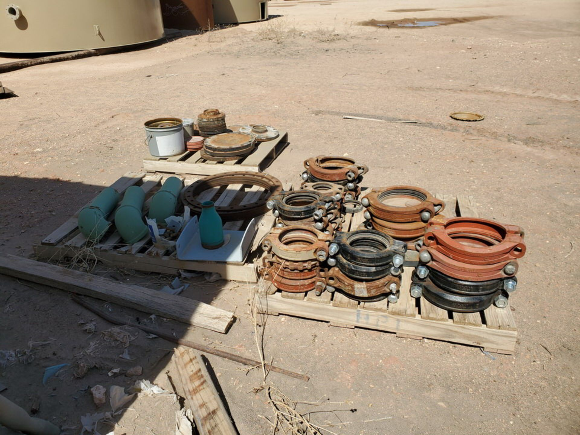 Assorted Fittings To Include But Not Limited To: Assorted Flanges, Caps, Couplings, etc.; Size - Image 9 of 14