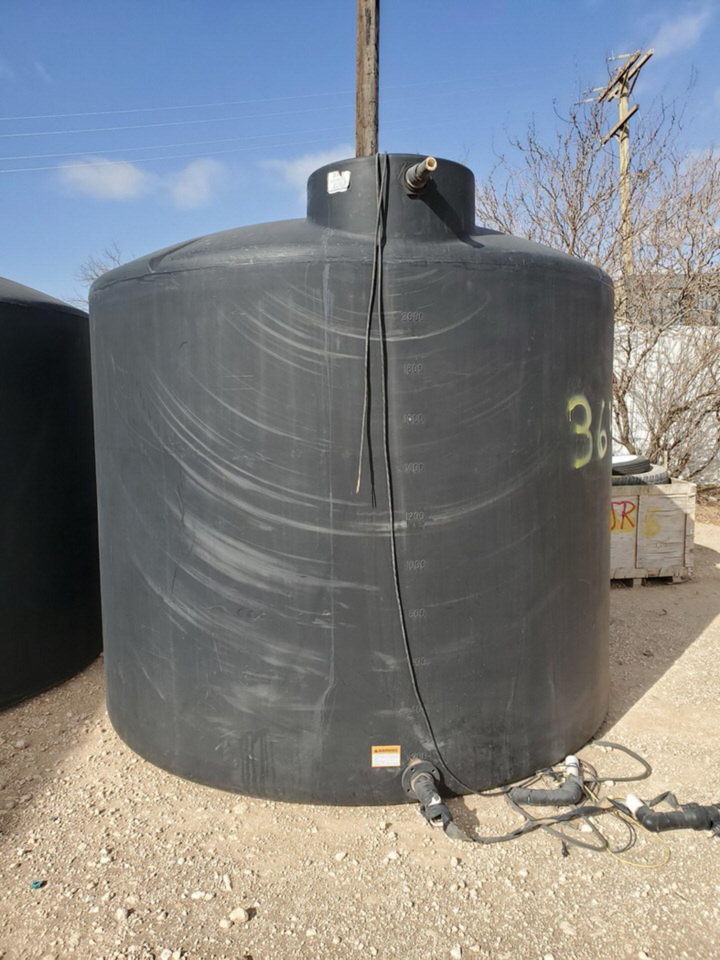 Water Tank 2500Gal - Image 2 of 6