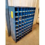 "(2) Parts Bins To Include But Not Limited To: Nuts, Bolts, Washers, etc. Size Range: 1/4""-4"""