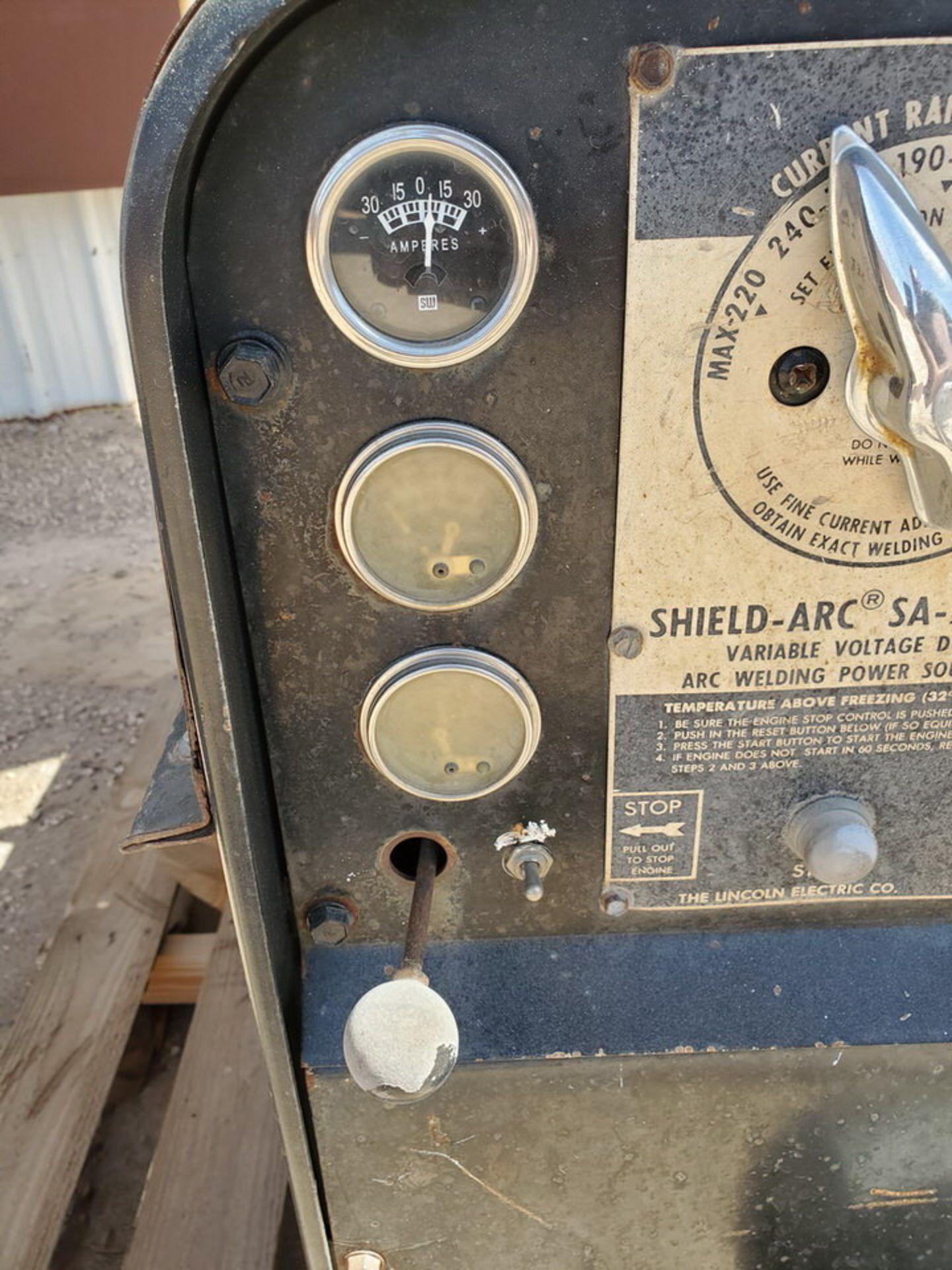 Lincoln Sa-250D3.152 Arc Welder - Image 11 of 11
