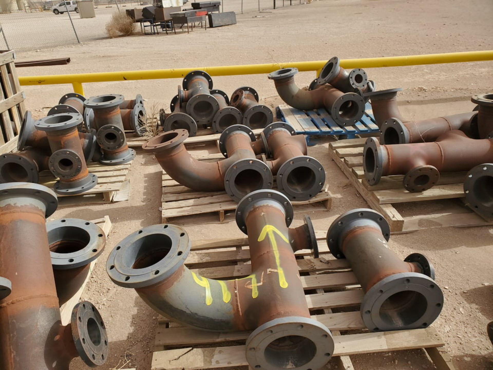 """(29) Flanged Pipe 22"""" - 82""""L - Image 5 of 15"""