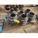 "Assorted Flanges (11) Pallets, Size Range: 1"" - 10"""