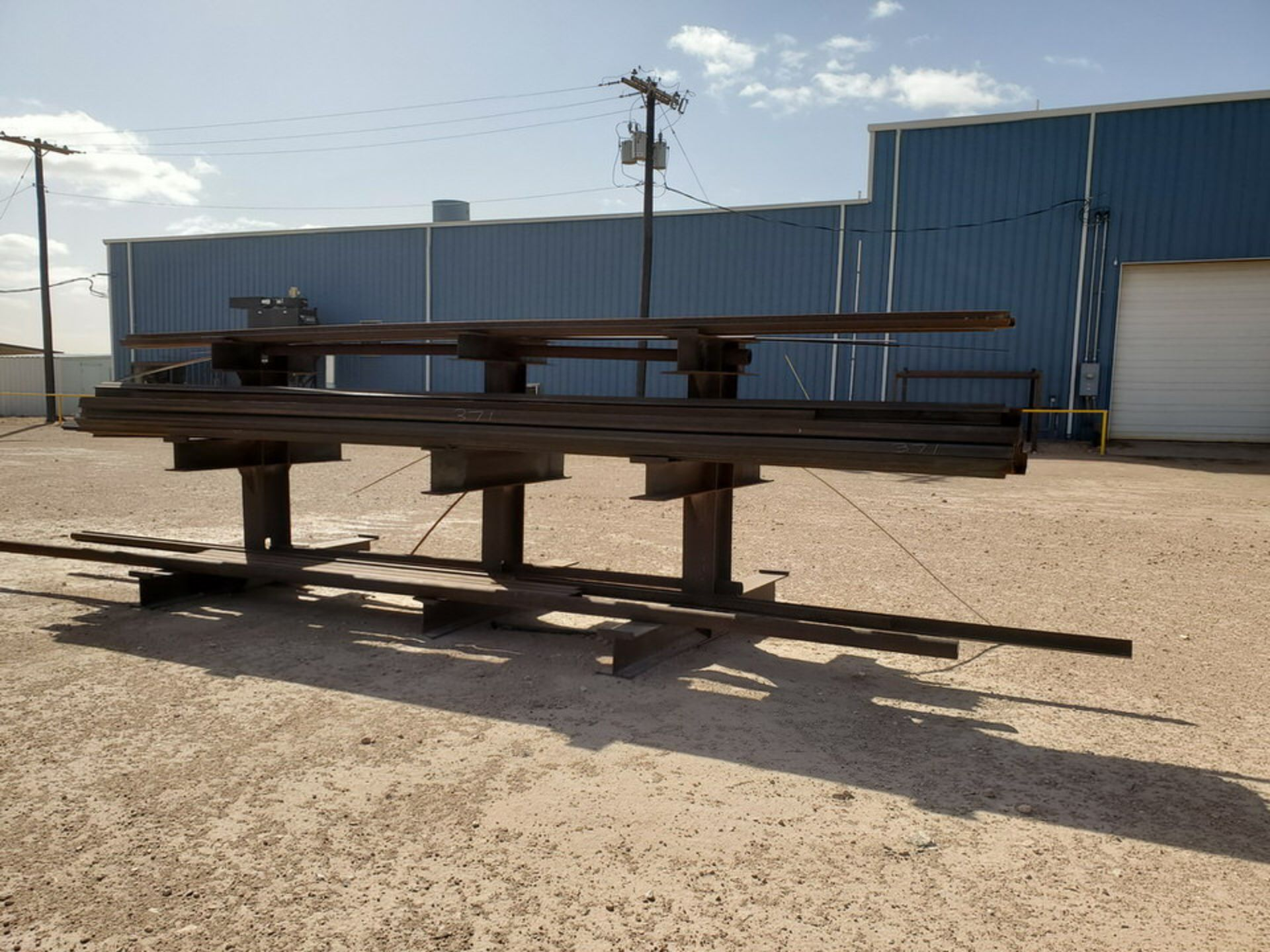 """(65) Angle, Pipe, Rect. Tubing & Other D: 3""""-4"""", L: 10' - 23'6""""; W/ Racks - Image 14 of 19"""
