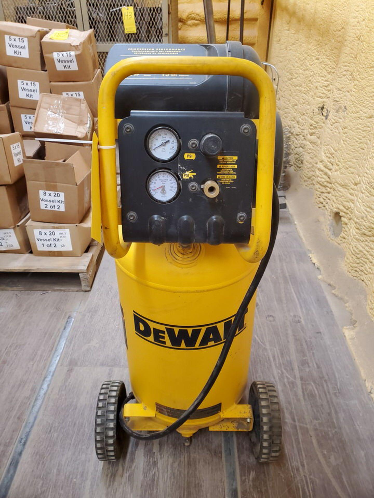 Dewalt Air Compressor 225psi, 1.6HP, 15Gal, 5.0 SCFM - Image 4 of 6