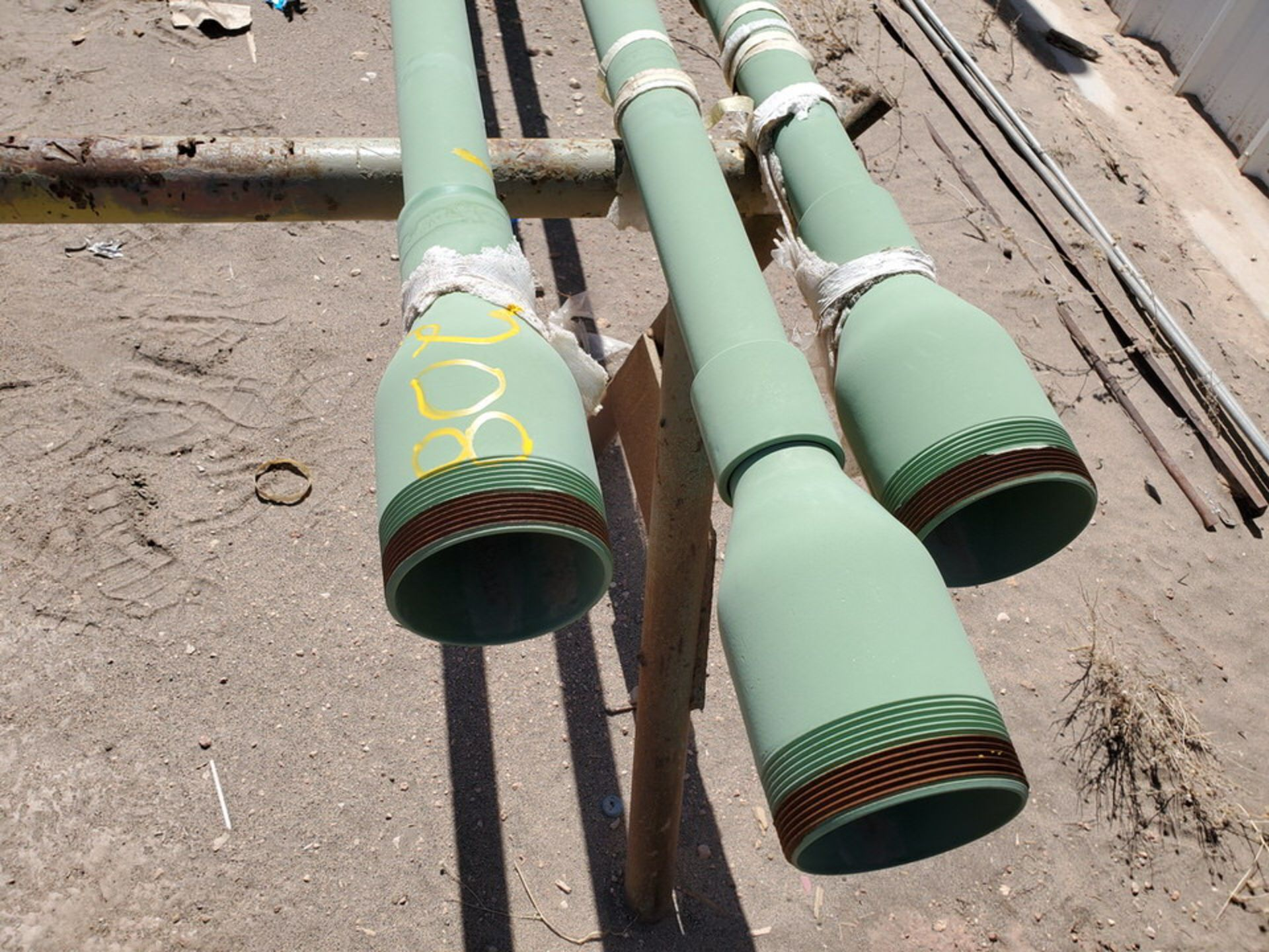 "(3) 2"" Pipe 19'2"" - Image 3 of 7"