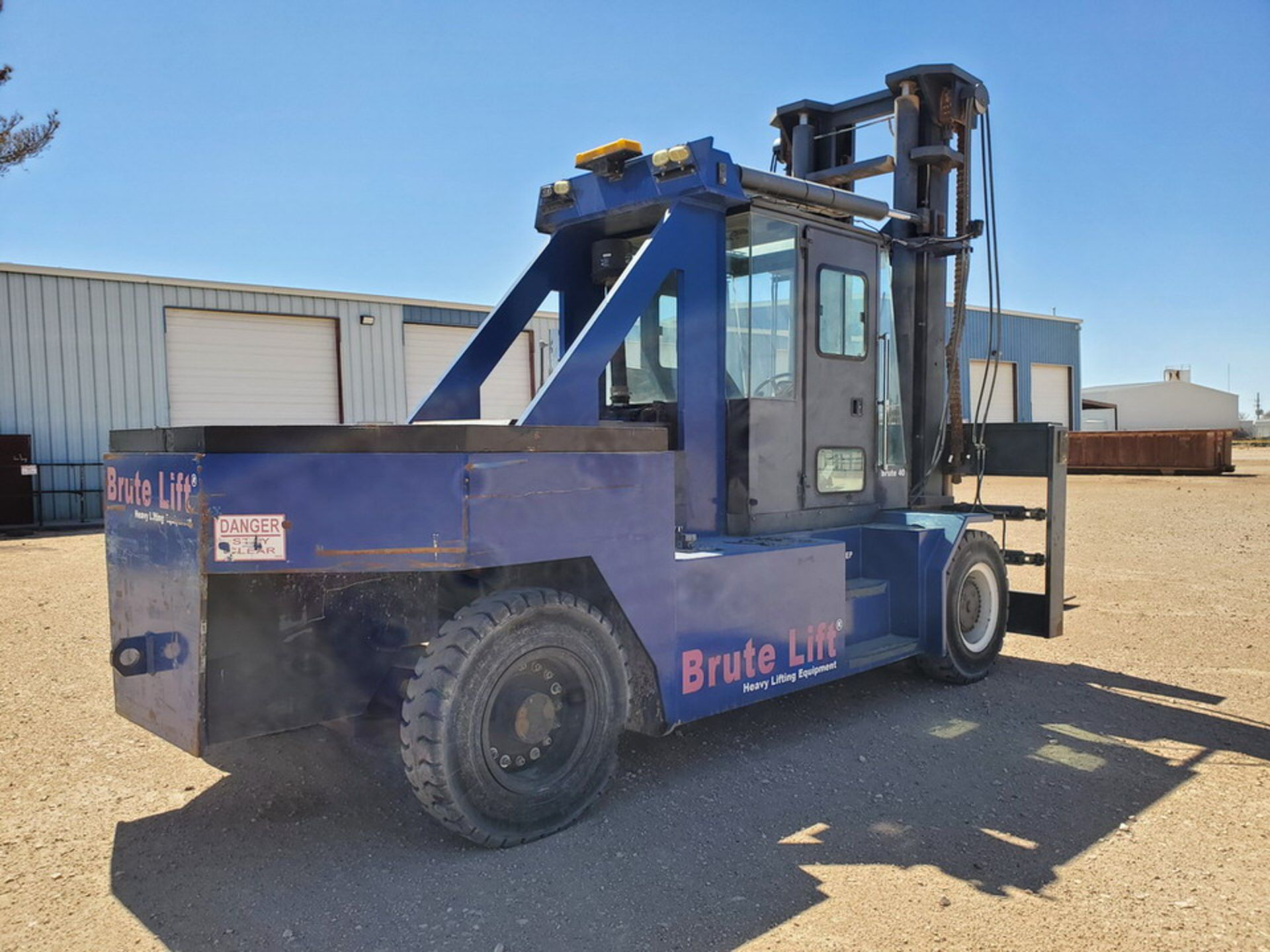 2012 Brute Lift BT40-48 Forklift 40H Cap., Engine Hrs: 3,389.3 - Image 4 of 17