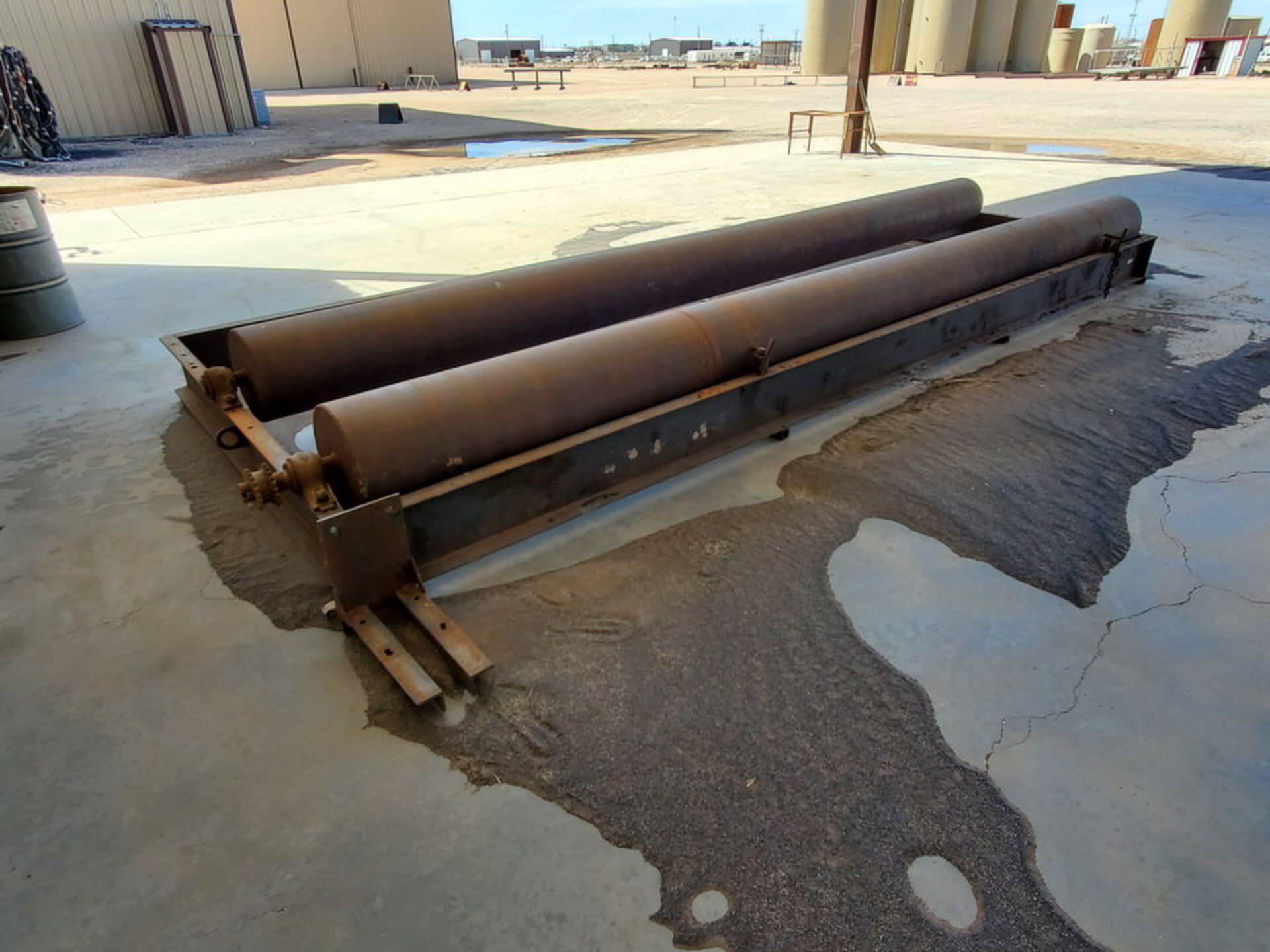 """Turn Roll 8' x 20'6"""", 16"""" O.D. Rolls, 1' Base; Overall Dims: 9'8""""W - Image 4 of 8"""