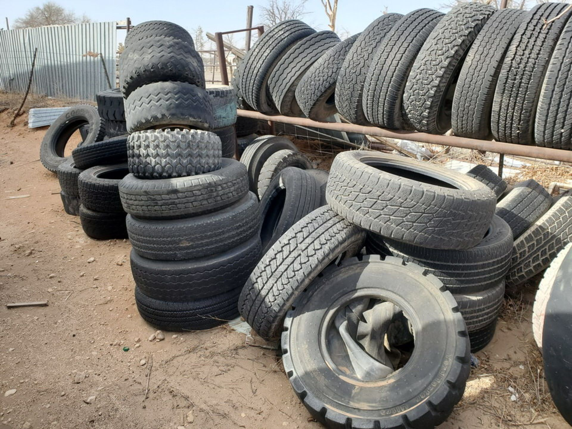 Assorted Tires W/ Rack - Image 4 of 9