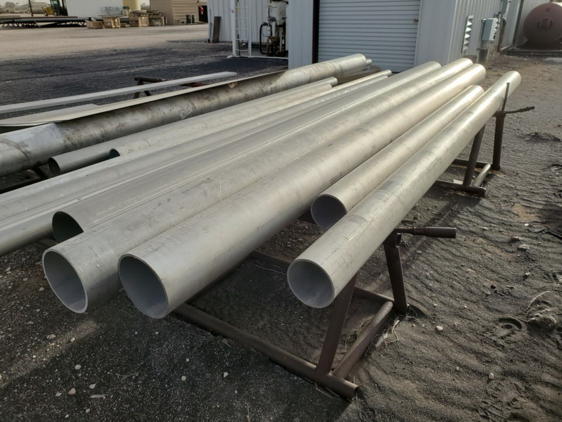Assorted Matl. To Include But Not Limited To: S/S Flat Bar, Pipe & Sheets (Rack Excluded) - Image 13 of 22