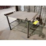 "Stl Welding Table 40"" x 53"" x 34""H"